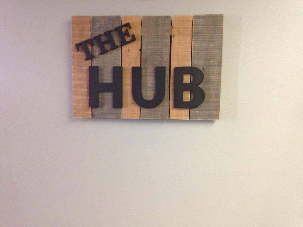 the hub sign.jpg