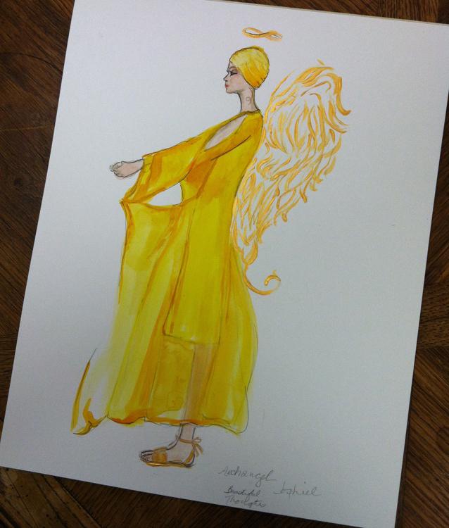 Finished Archangel Jophiel