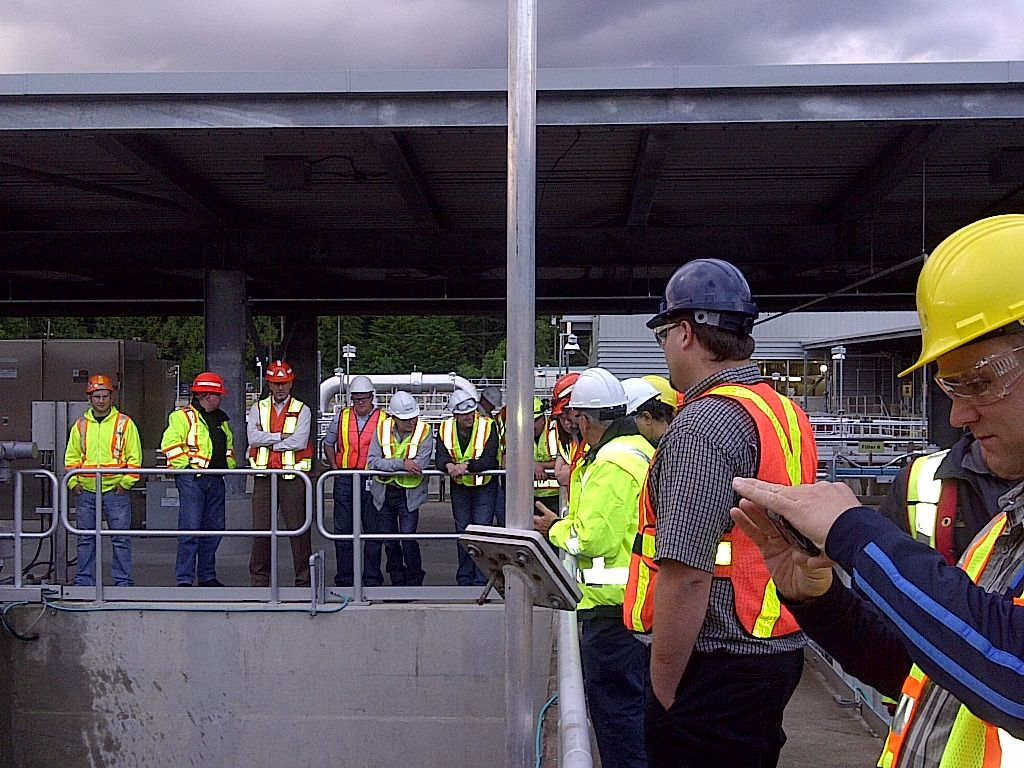 Metro Vancouver State-of-the-Art Water Treatment Facility at Lynn Valley, North Vancouver District.      - Paul E. Marquis