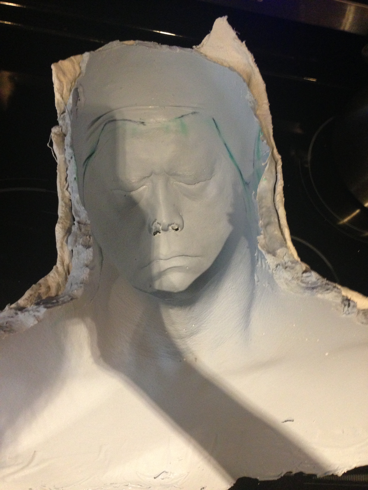Richard Dorton's finished mold