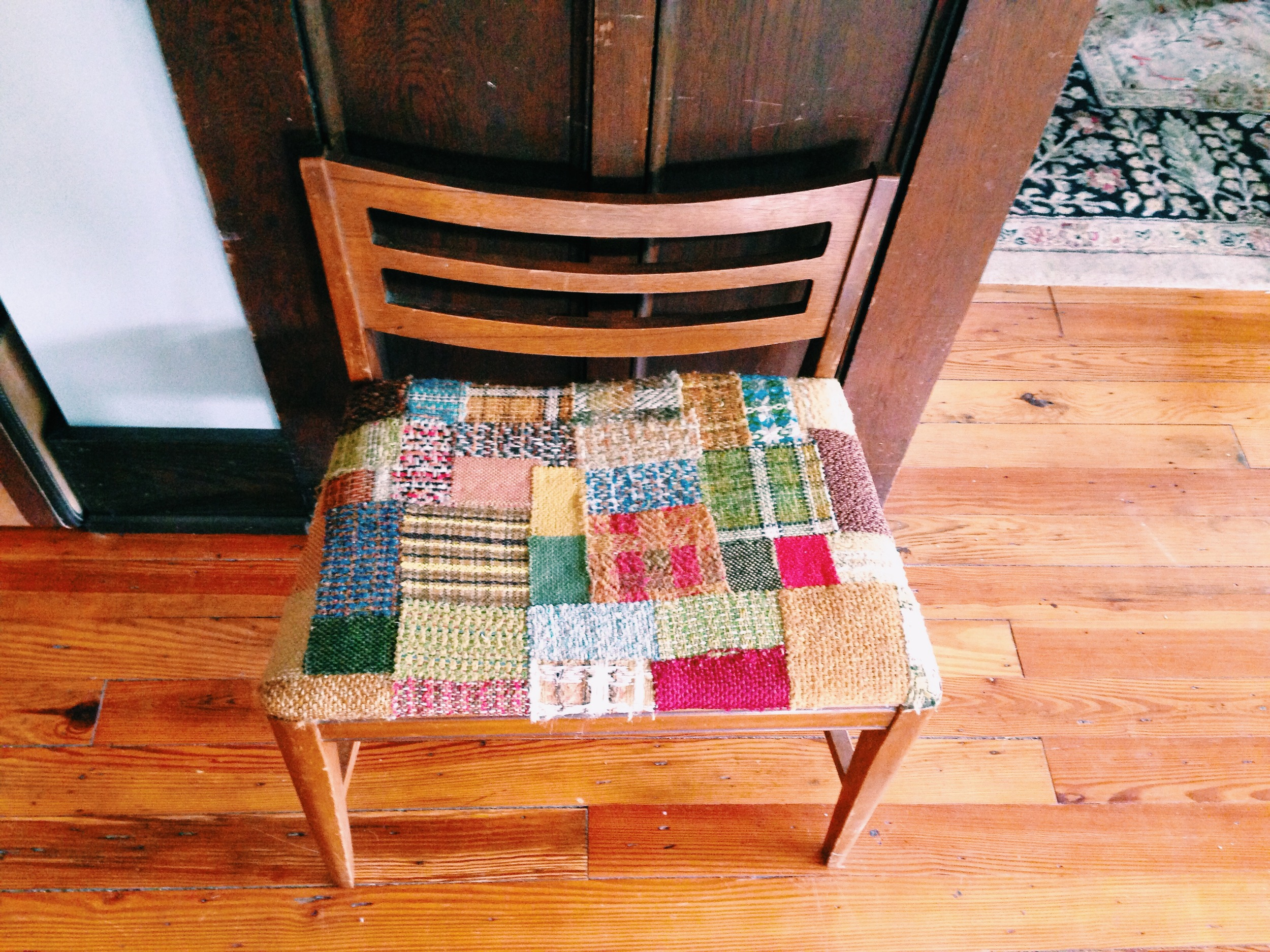quiltedbench