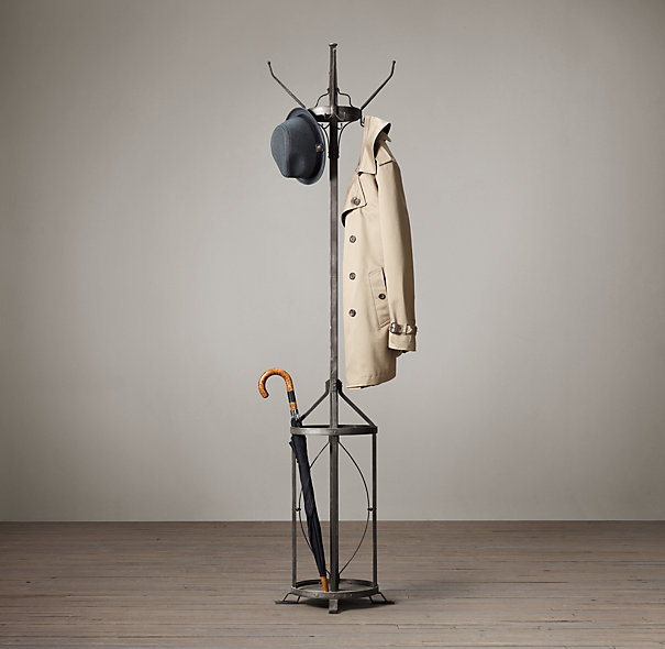 Vintage Factory Coat Stand by Restoration Hardware