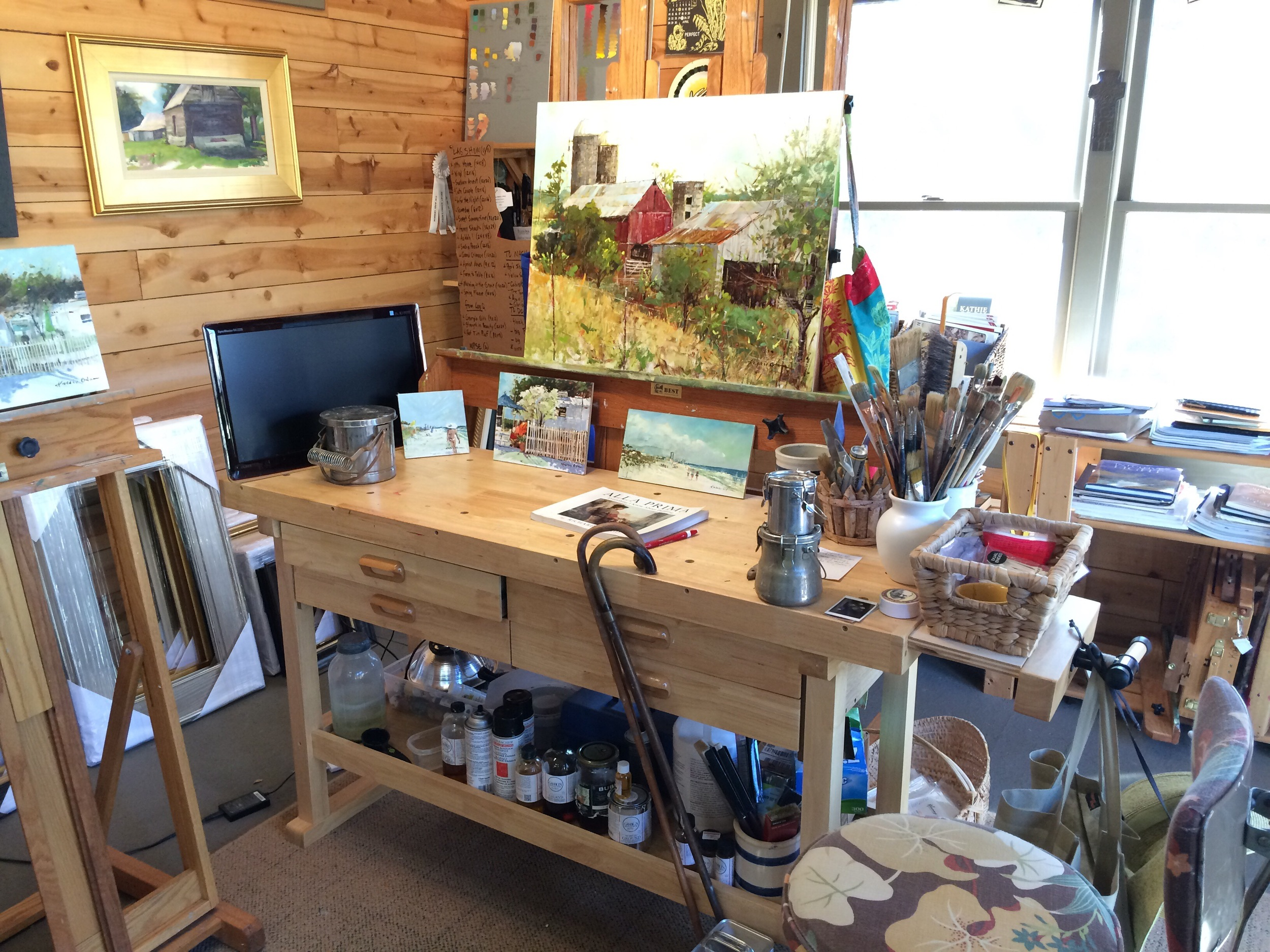 Home/Art Studio Tour at the Odoms