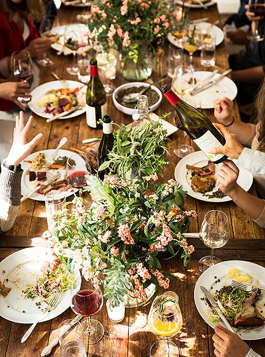 One Kings Lane - Fall Dinner Party.