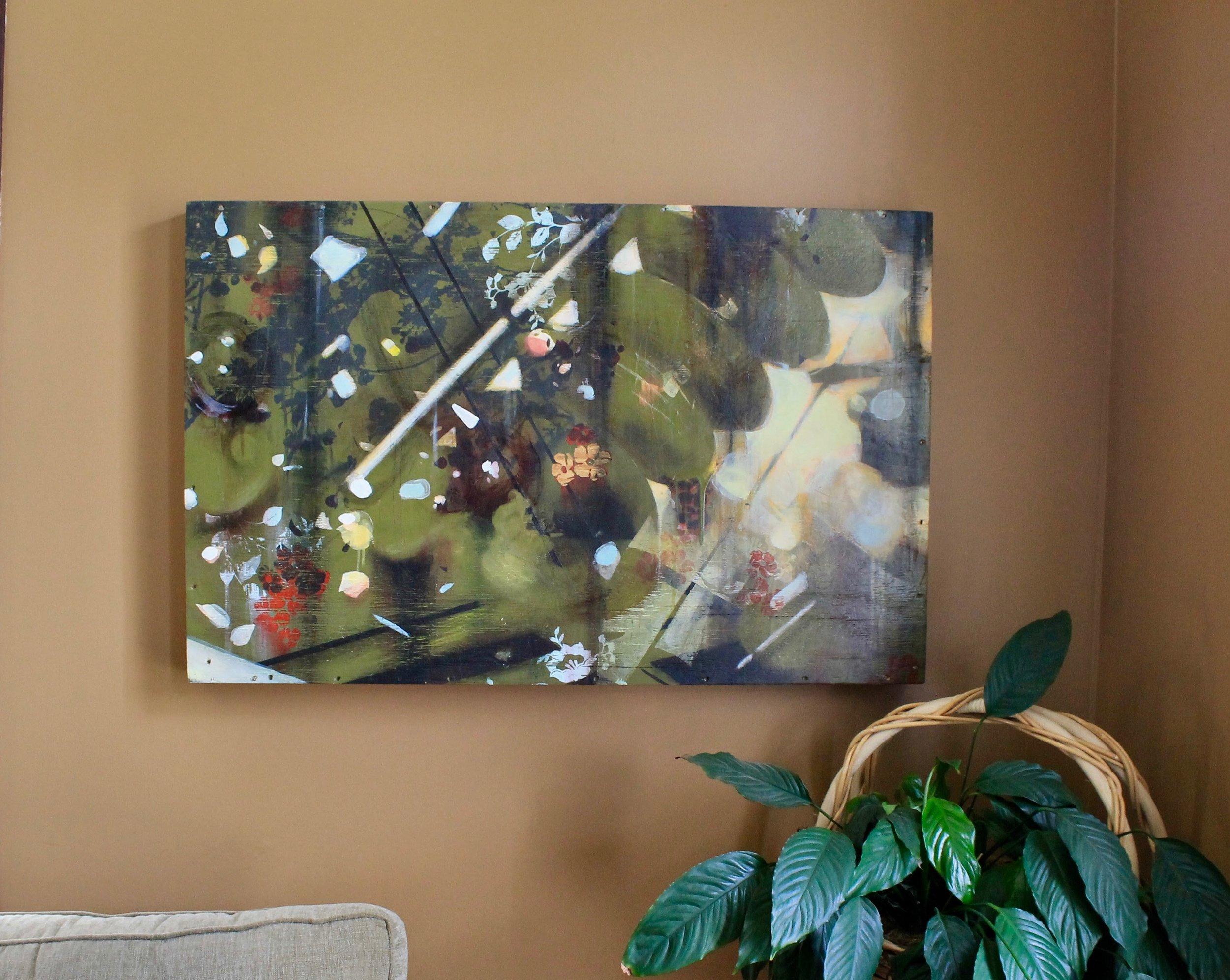 Sarah Shebaro painting