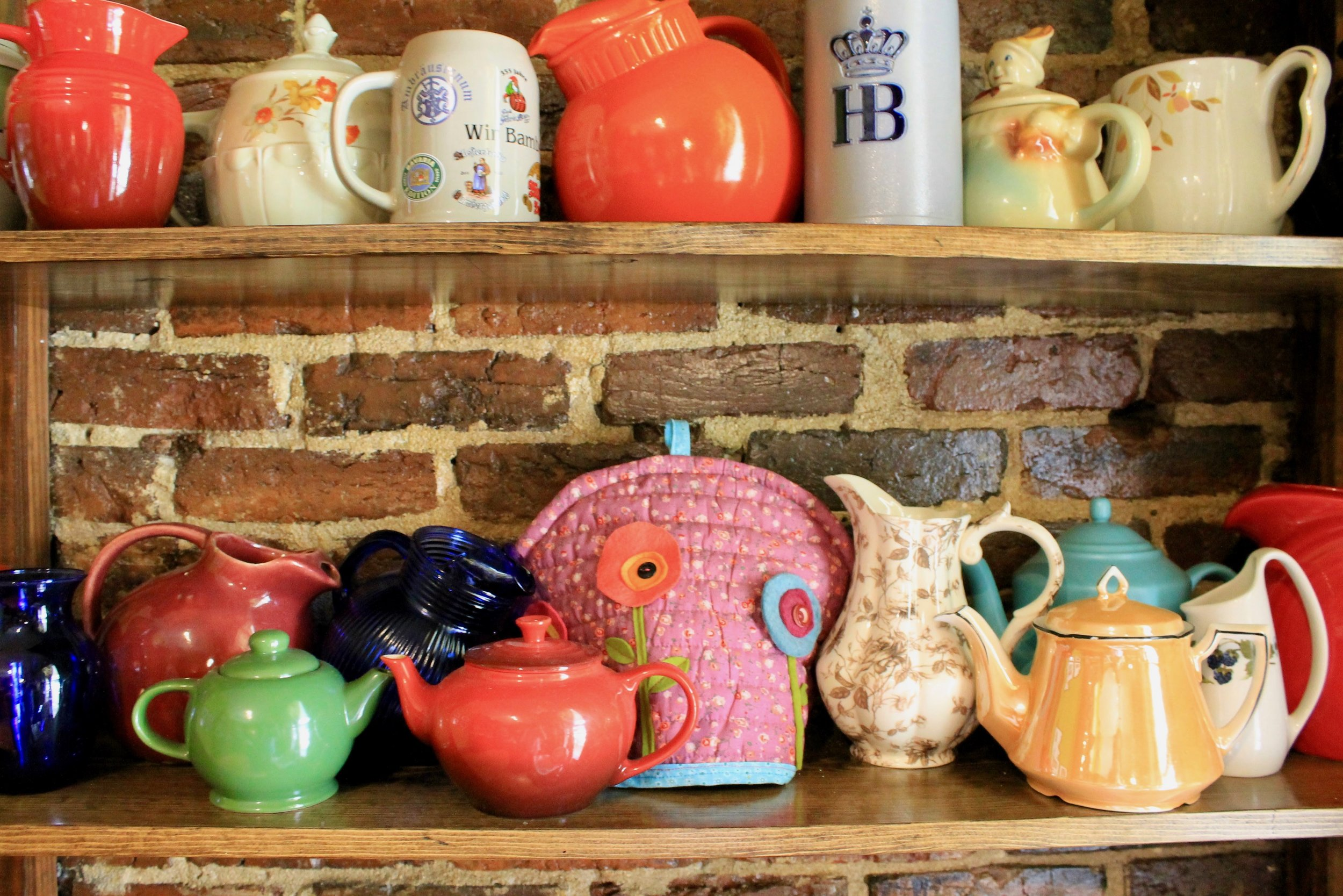 Teapot and Pitcher collection