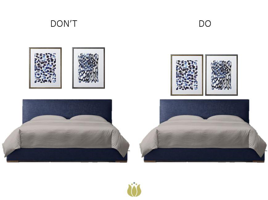 ART:  CB2  / BED:  RESTORATION HARDWARE
