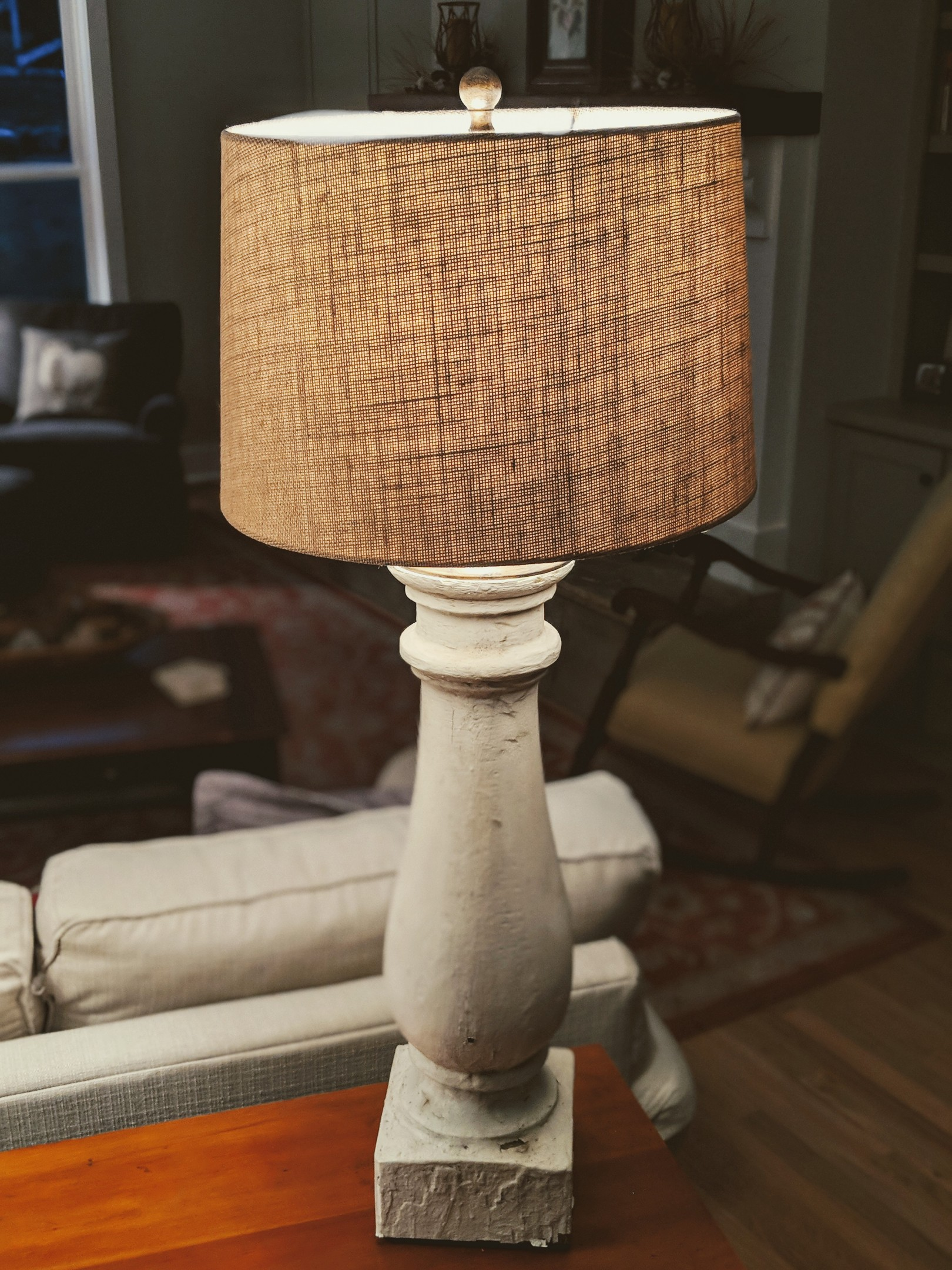 He has a limited supply but can make custom lamps on special order!