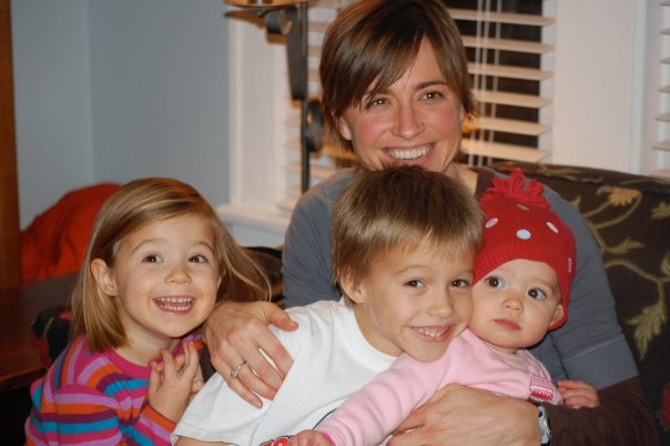 Taryn with Kate, Will, and Eli Ruth // 2008