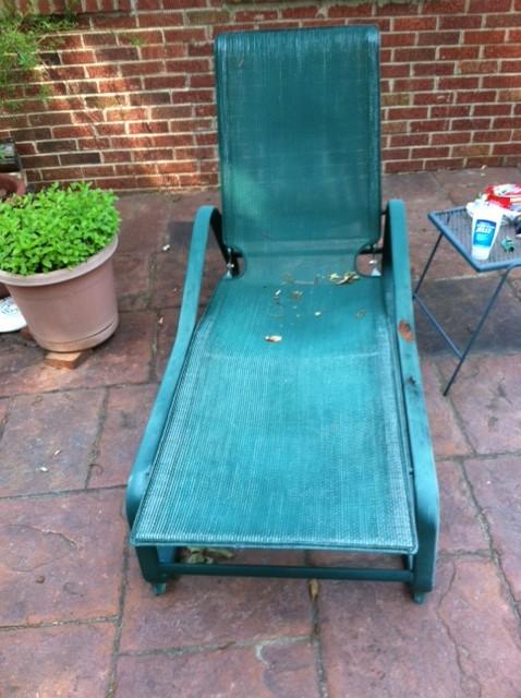 - Chesapeake # 9210 Chaise Before