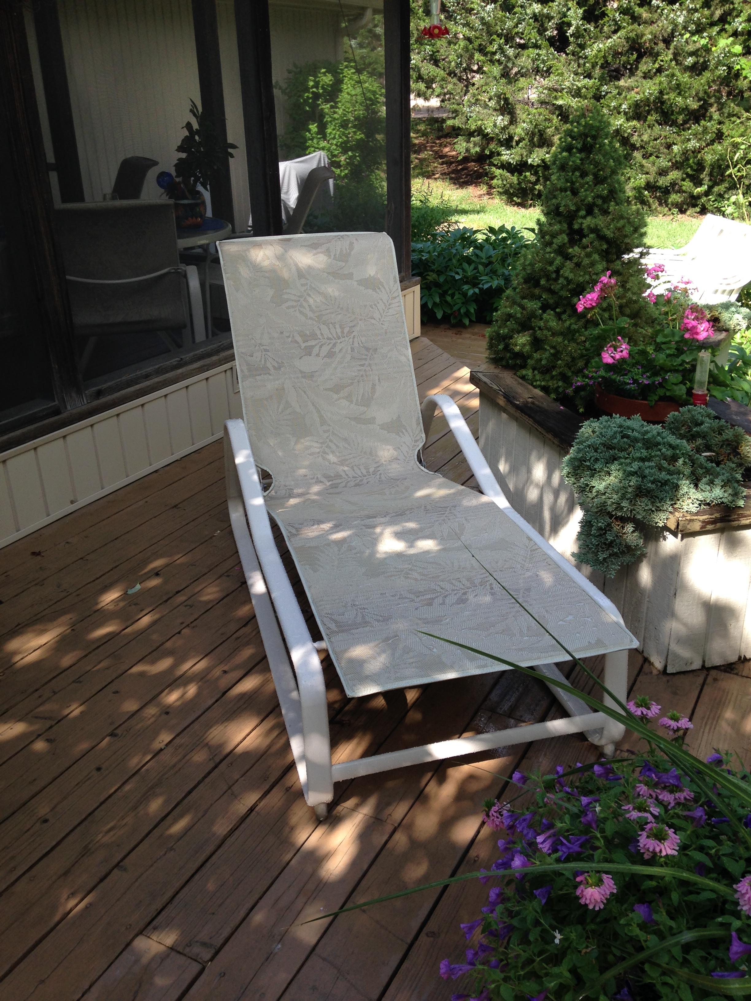 - Chesapeake # 9210 Chaise in Sumba Java