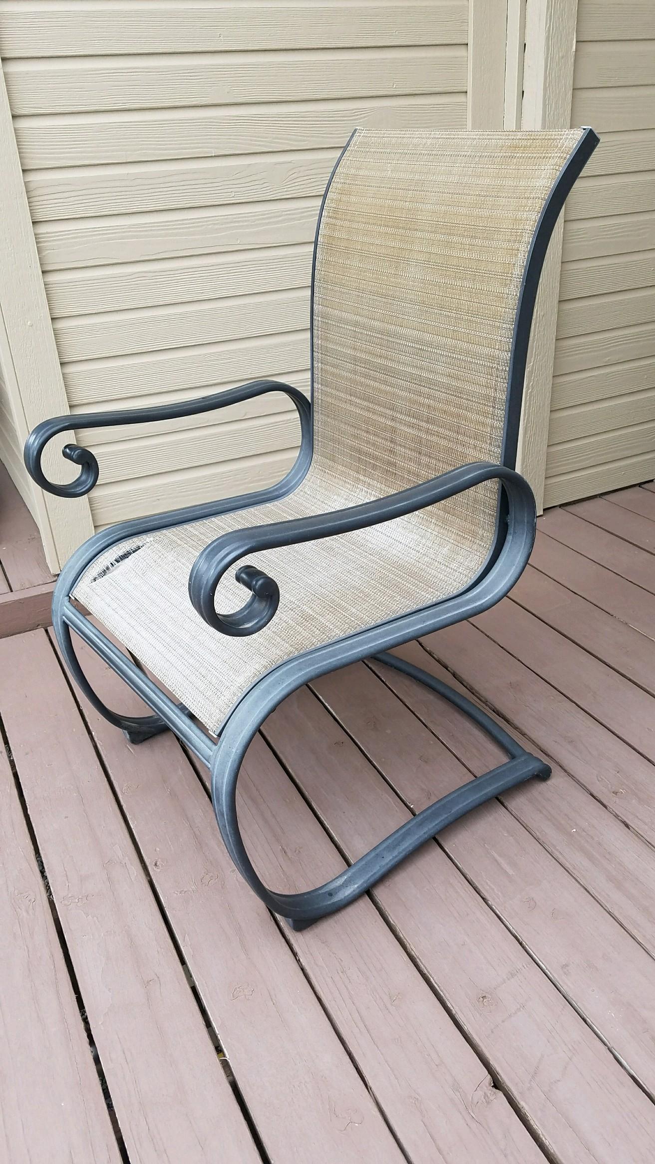 Aluminum Furniture BEFORE