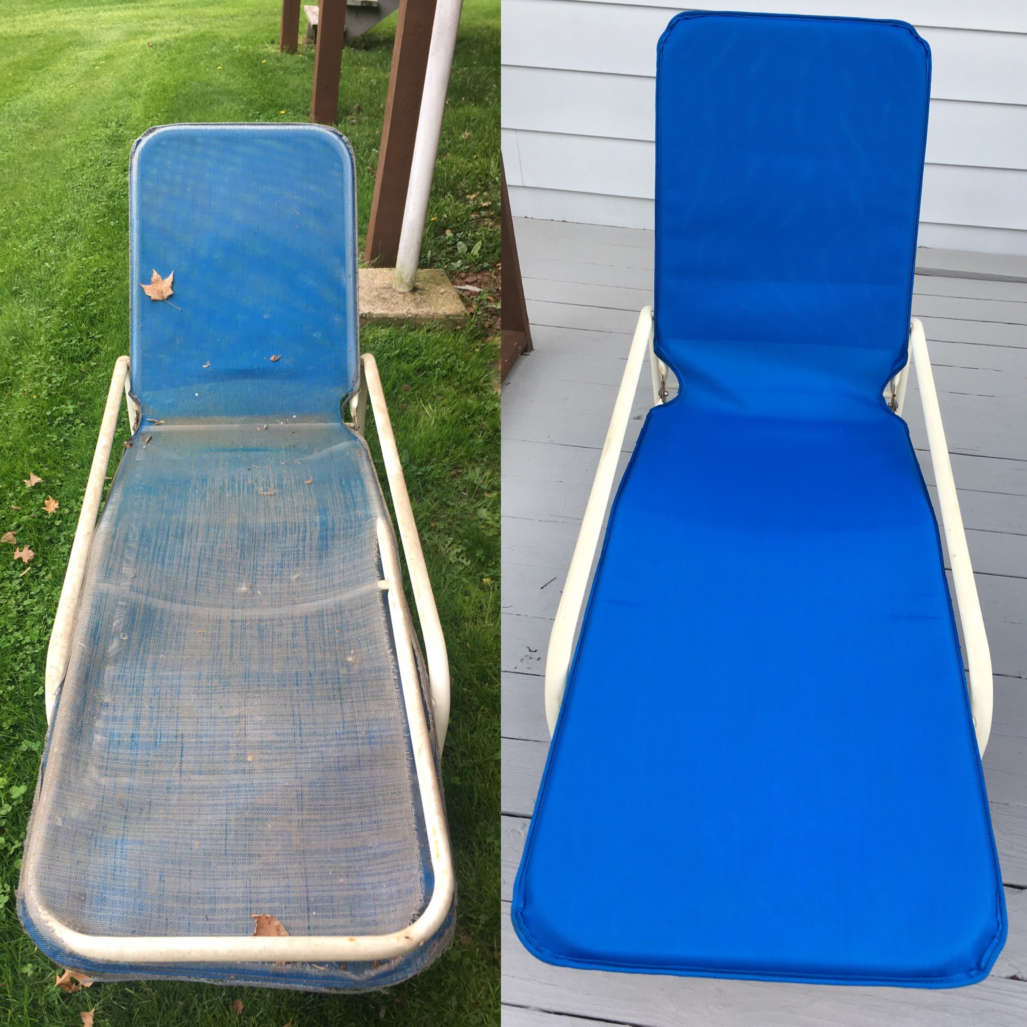 Before / After BG 5410 / Royal Blue