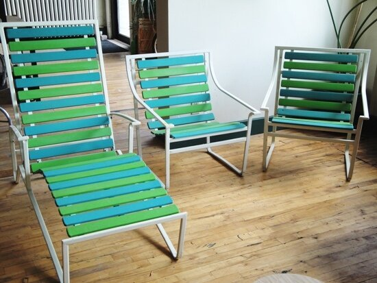 Slat Line Furniture (circa 70's / 80's)