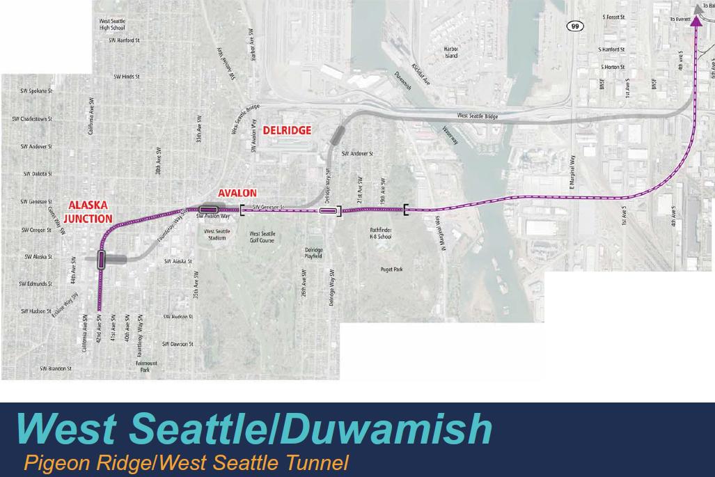 Pigeon Ridge / West Seattle Tunnel