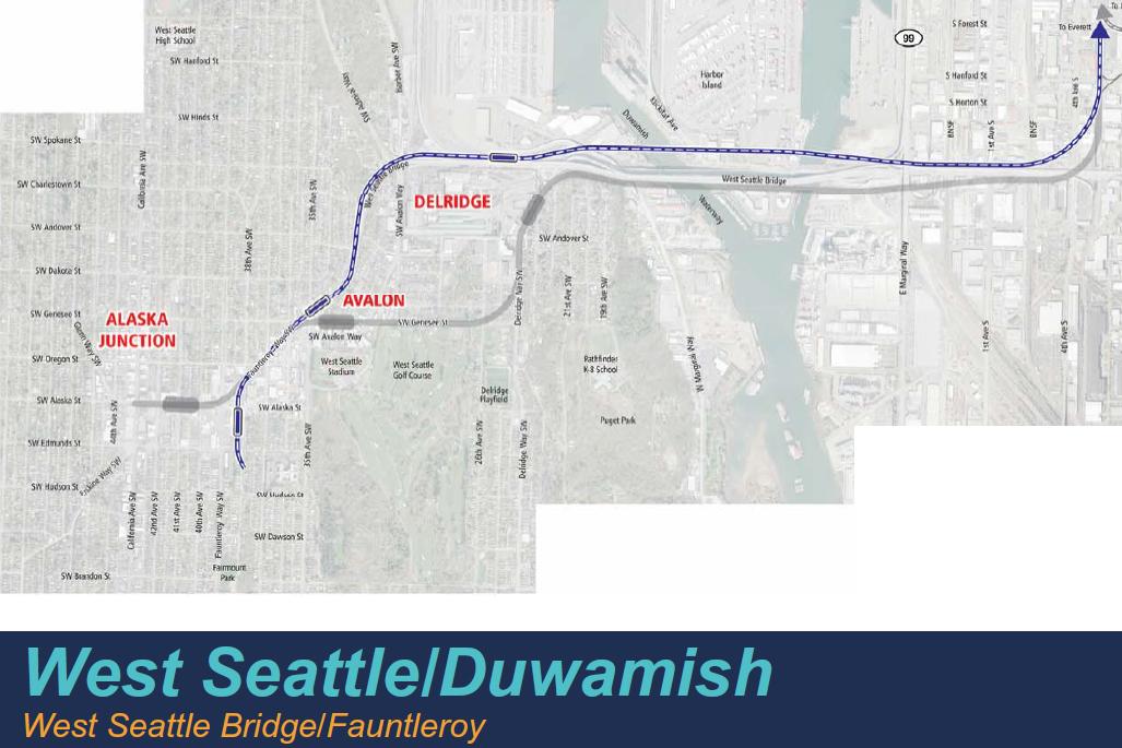 West Seattle Bridge / Fauntleroy