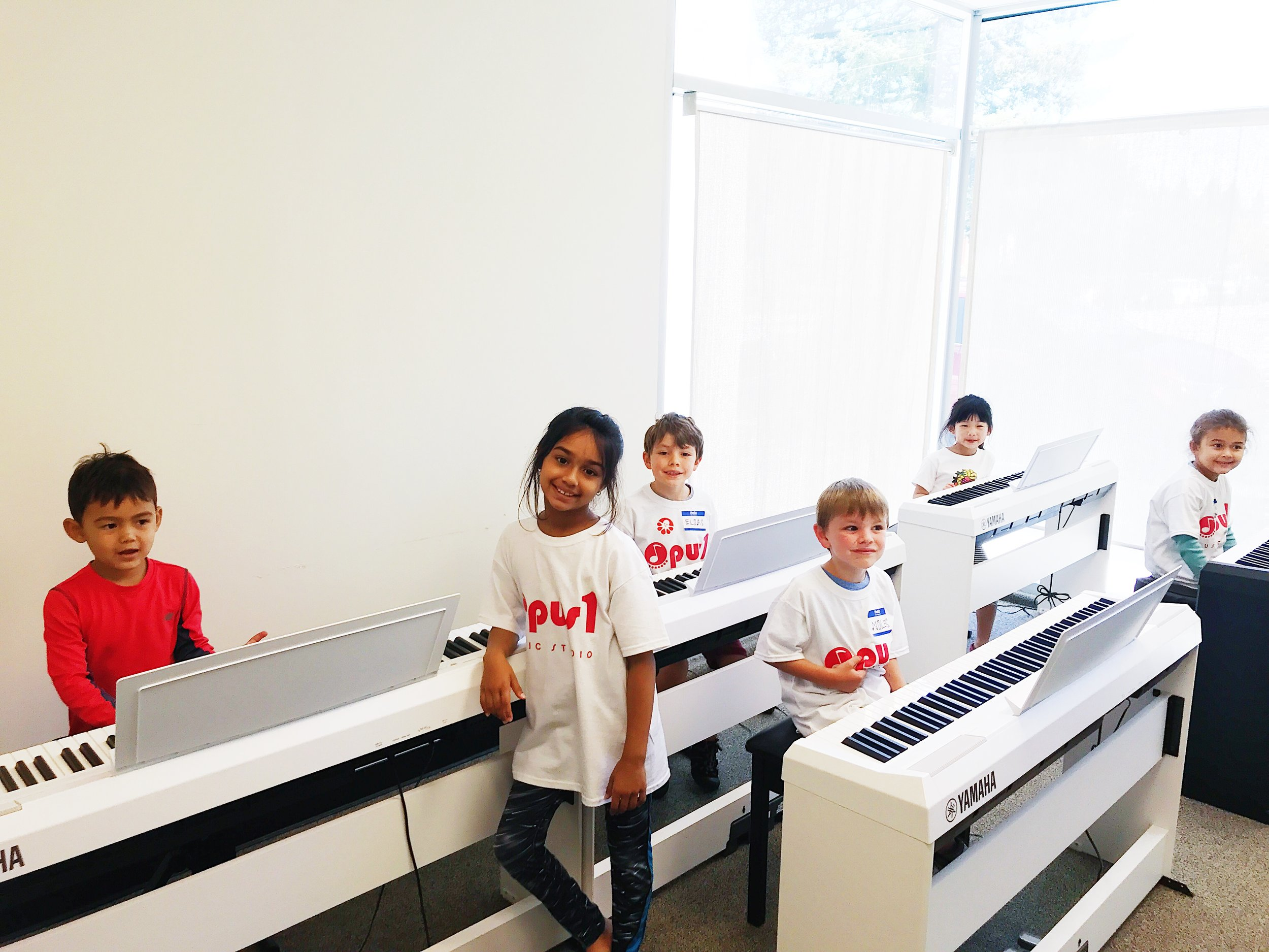 My First Piano - FOR AGES:5 - 7 yearsLOCATION:Palo Alto CampusSTARTS:January 7, 2020(ongoing enrollment until 4th class)ENDS:March 28, 2020________TUITION:$490 (12 sessions)(Includes registration and materials)