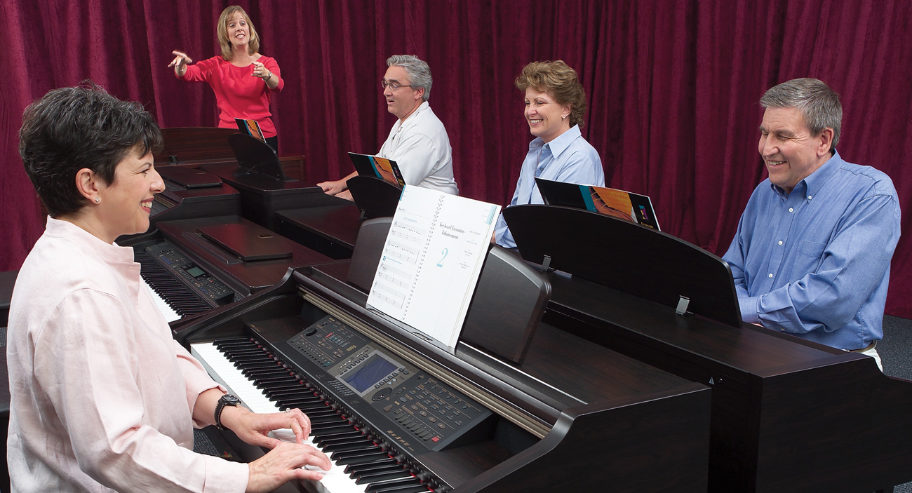 Adult Piano Class - FOR AGES:18+ LOCATION:Palo Alto CampusSTARTS:September 18, 2019ENDS:December 11, 2019________TUITION:$490 (12 sessions)(Includes registration and materials)