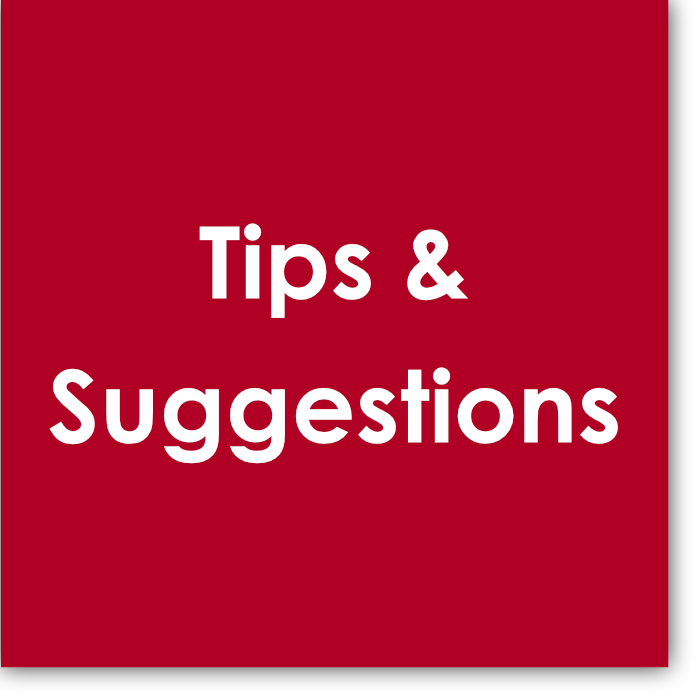 This  Tips & Suggestions  resource provides ideas for handling difficult concepts for students to grasp. The page is perpetually evolving. Browse for ways to help your students conquer the challenges of the exams.