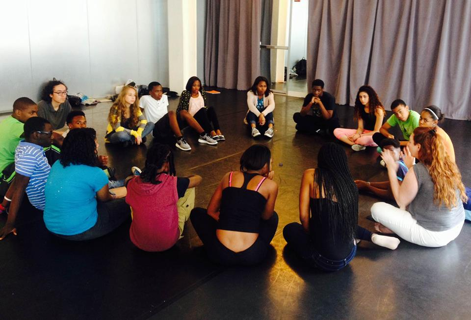 Teaching Scene Study to the Opening Act Leadership Conservatory
