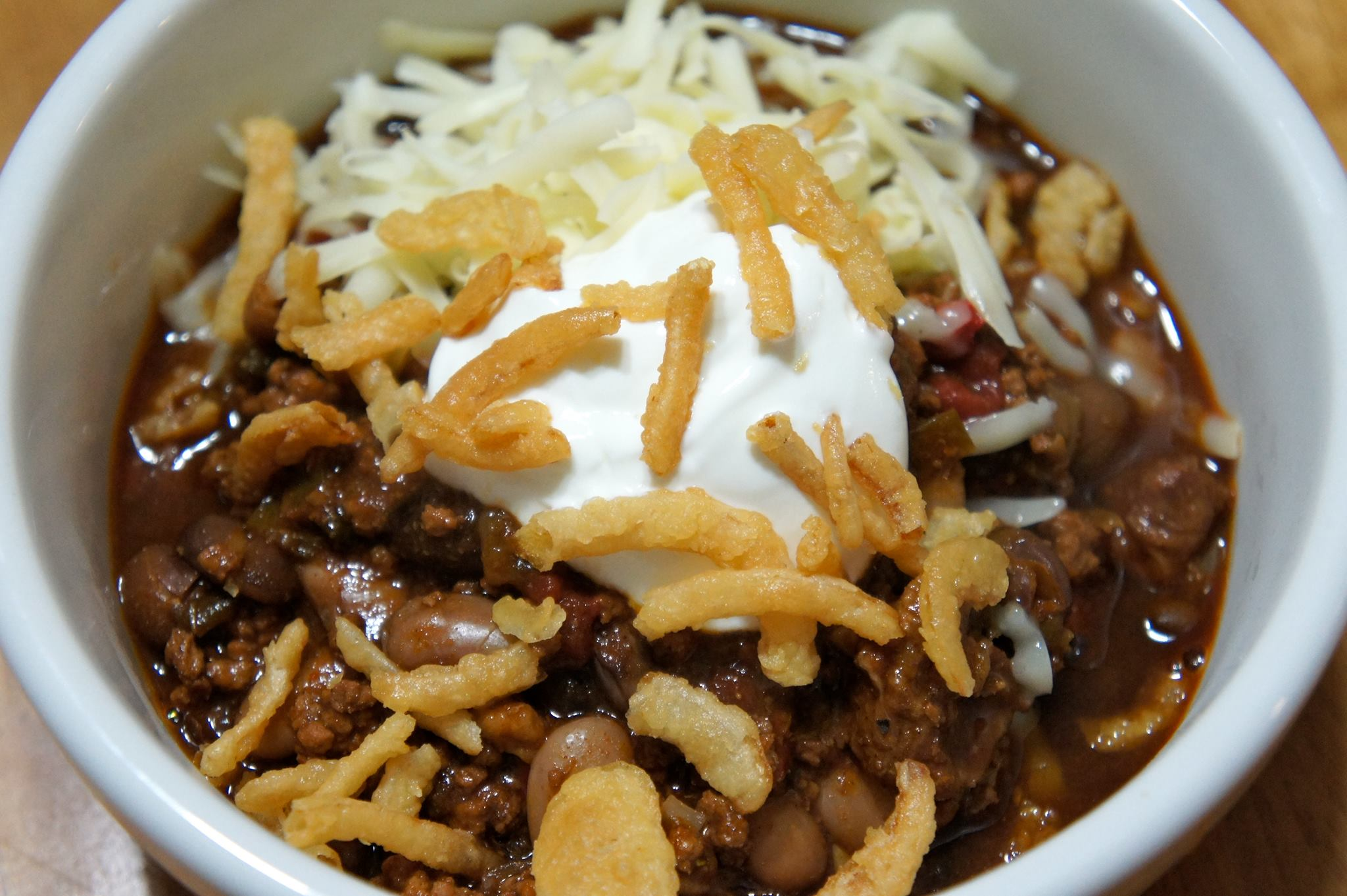 Big Bad Brisket Chili