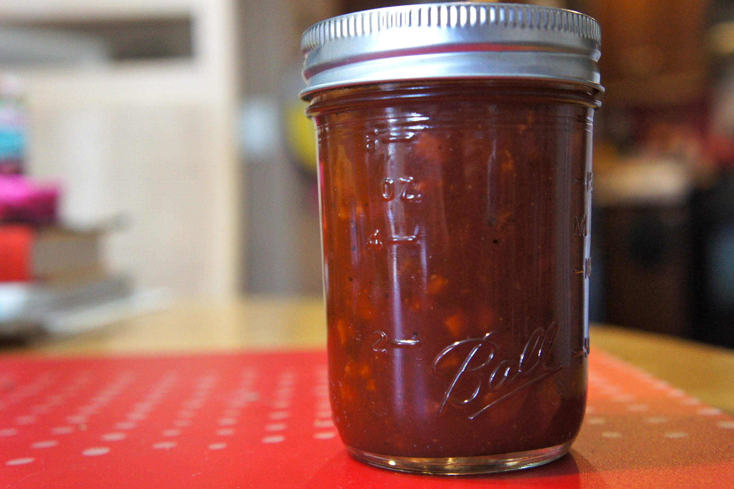 Bourbon and Candied Bacon BBQ Sauce