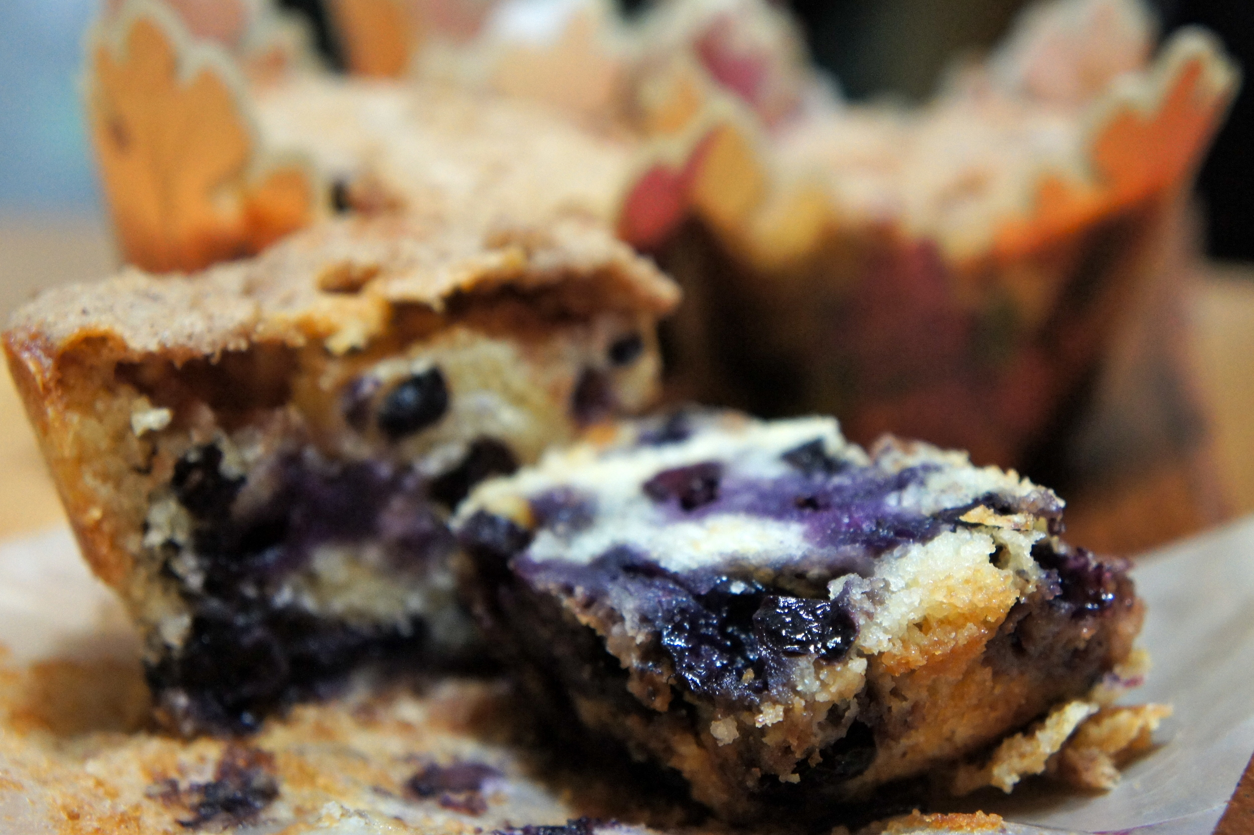 Blueberry Buckle Muffins