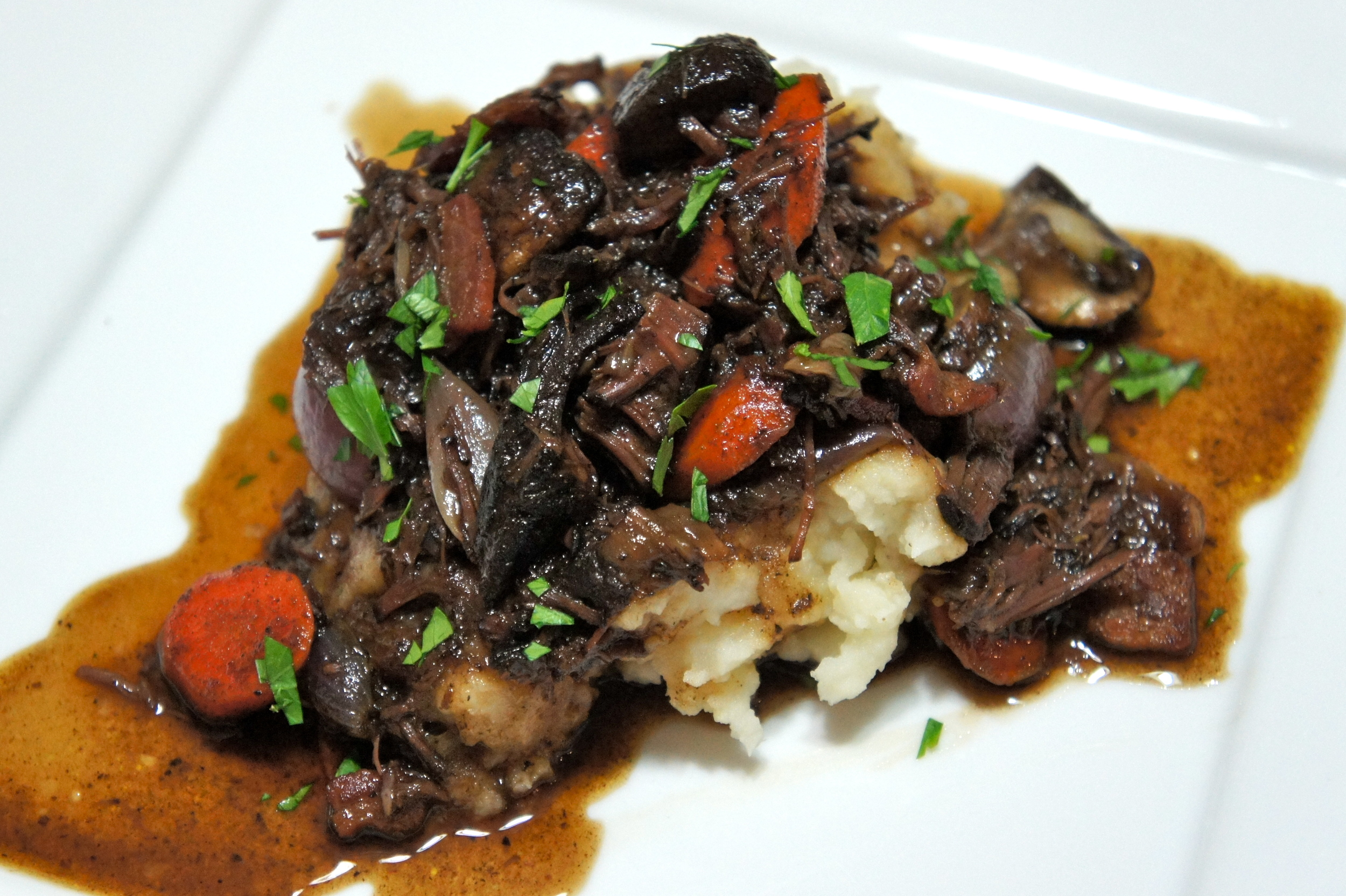 Joues de Boeuf Confites (Braised Beef Cheeks)