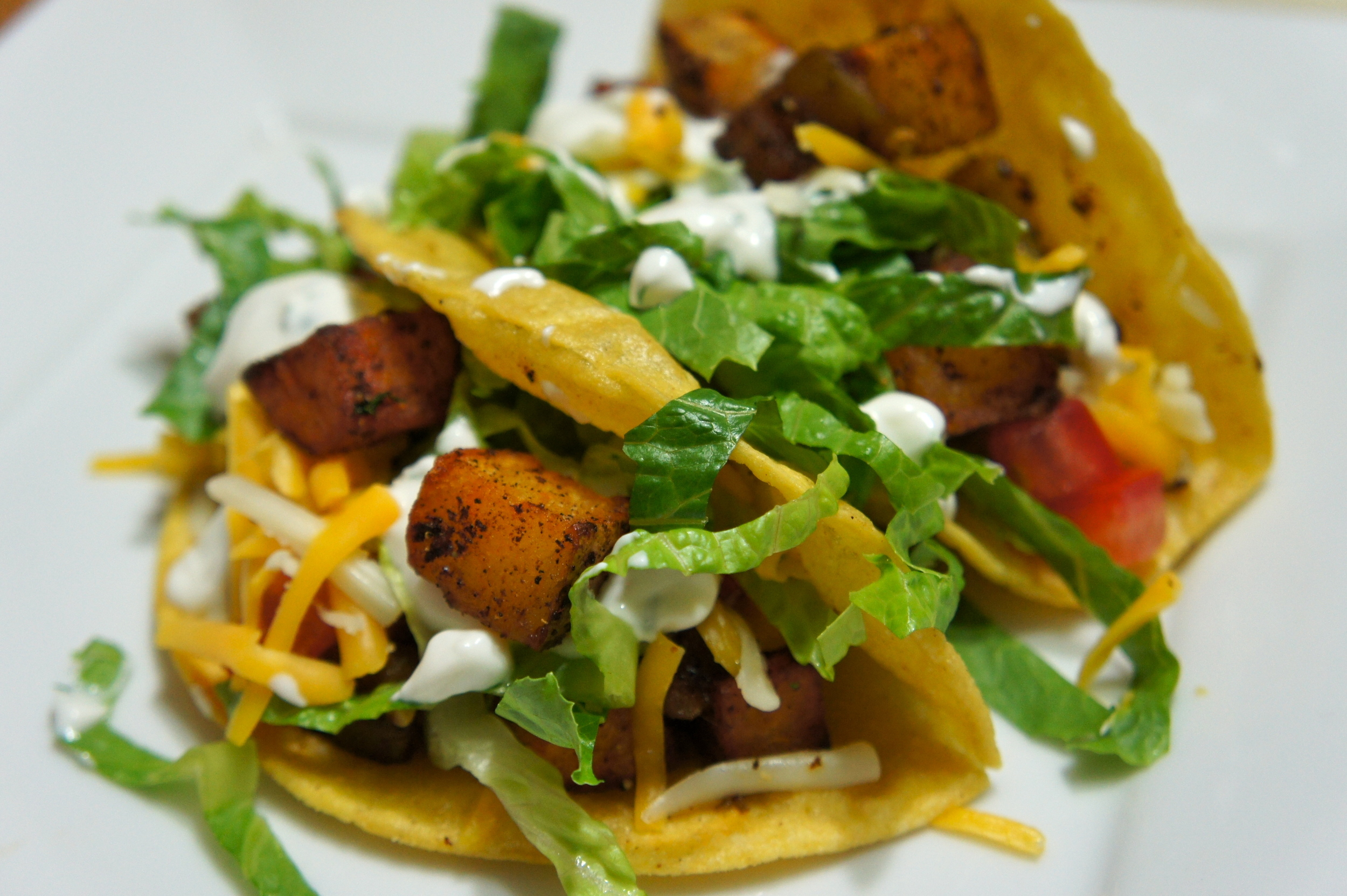 Crispy Potato Tacos