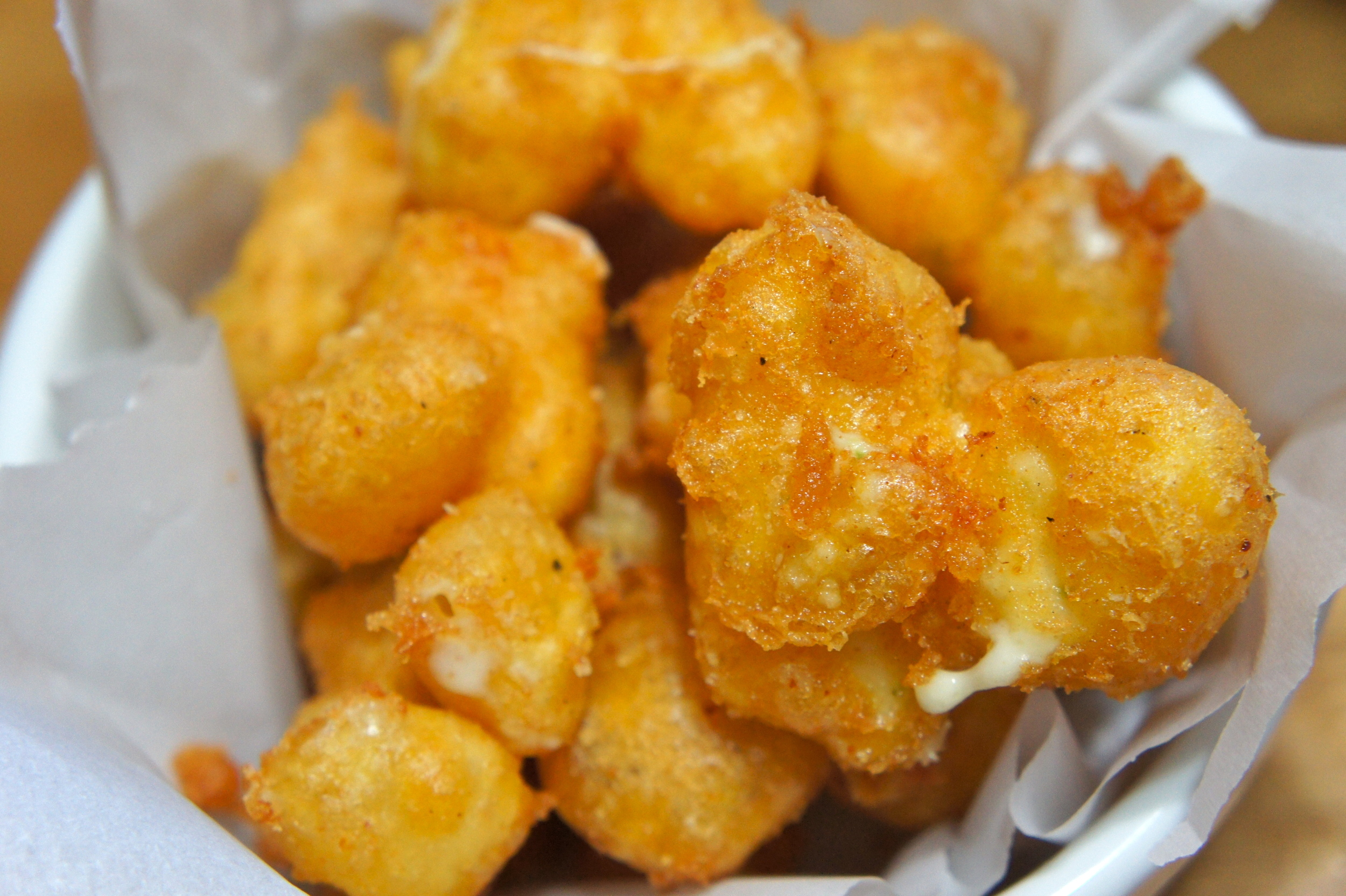 Beer Battered Fried Cheese Curds II