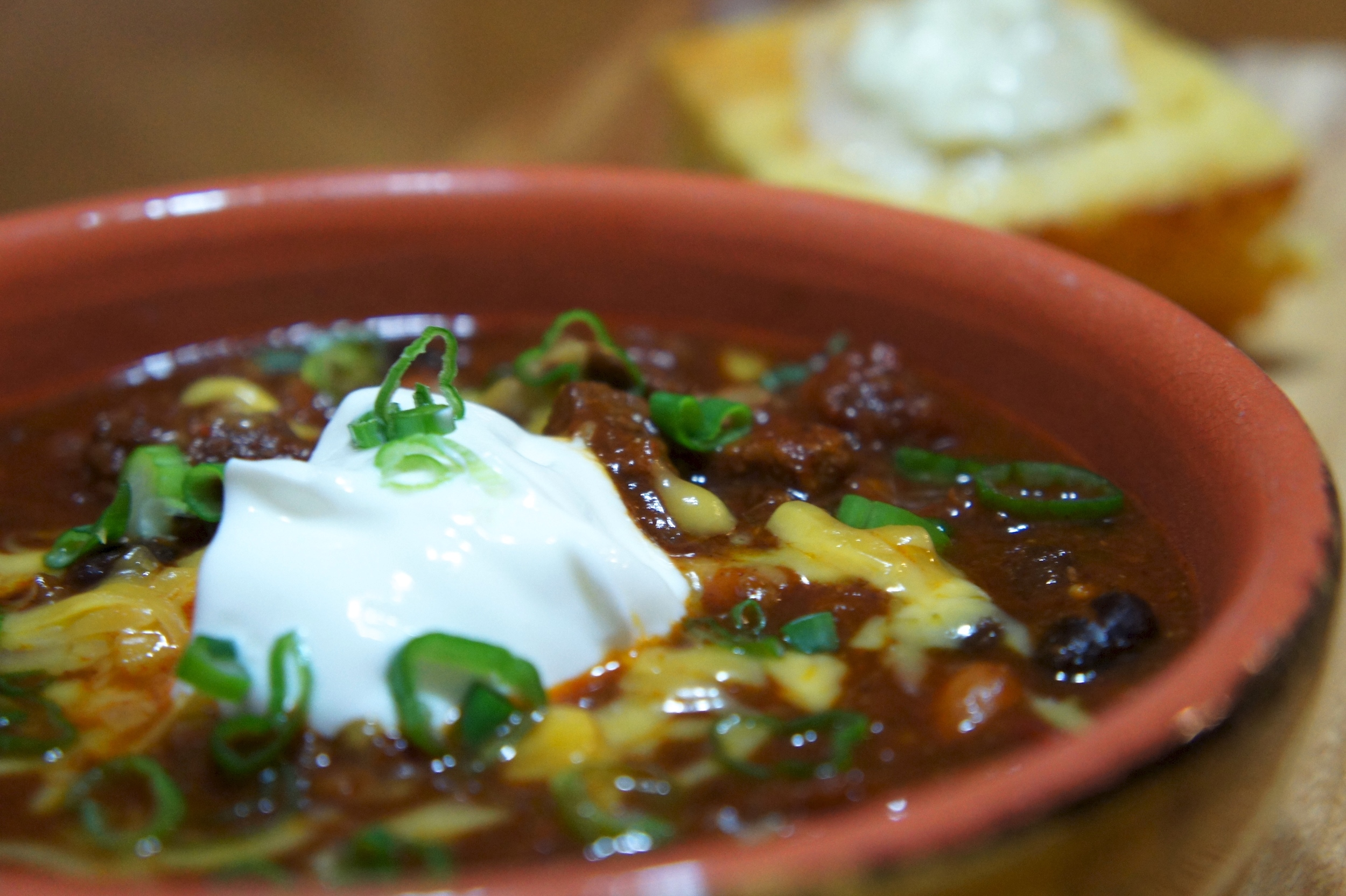 Red Chili with Beans and Bacon
