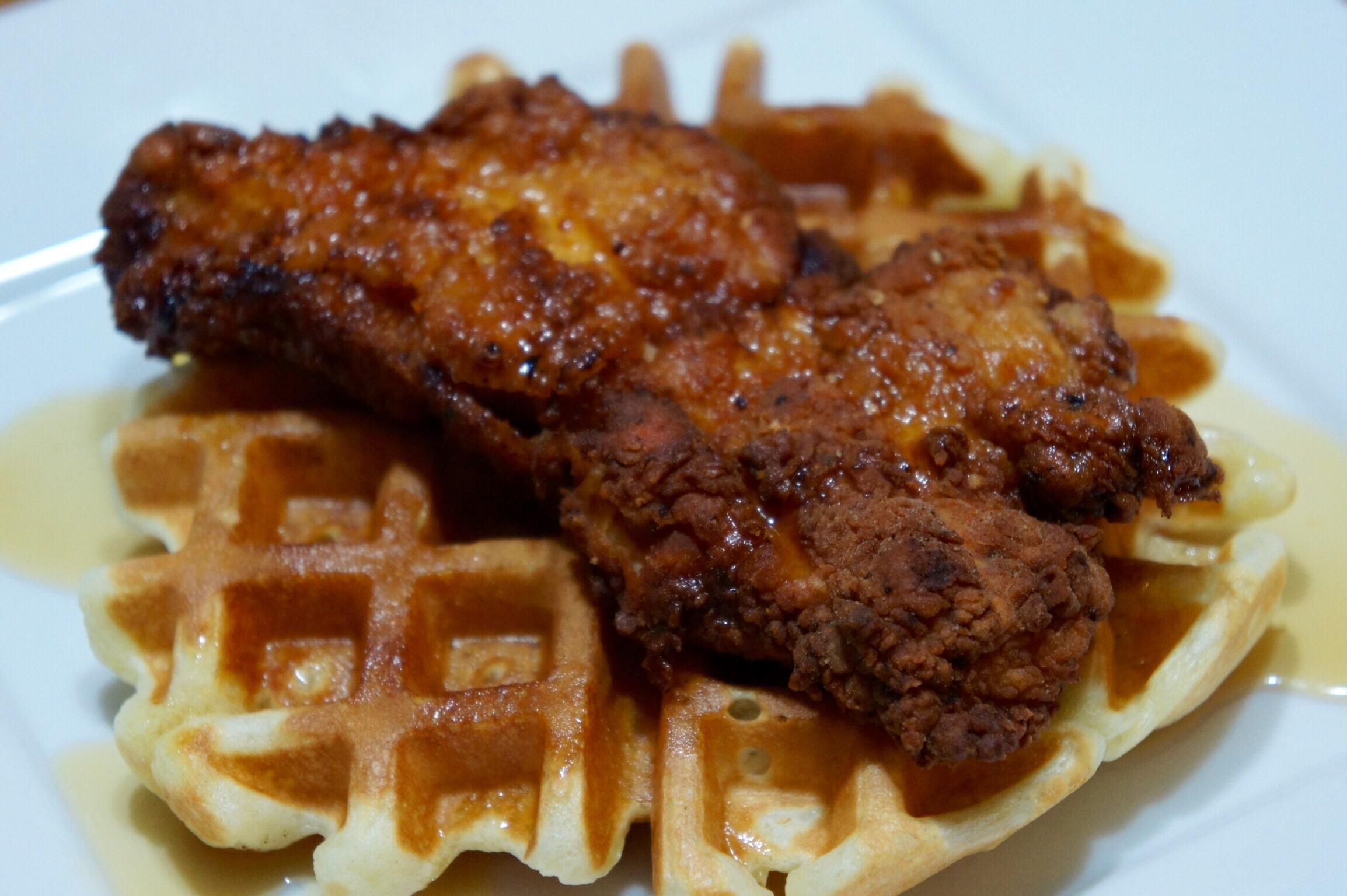 Spicy Chicken 'N Waffles