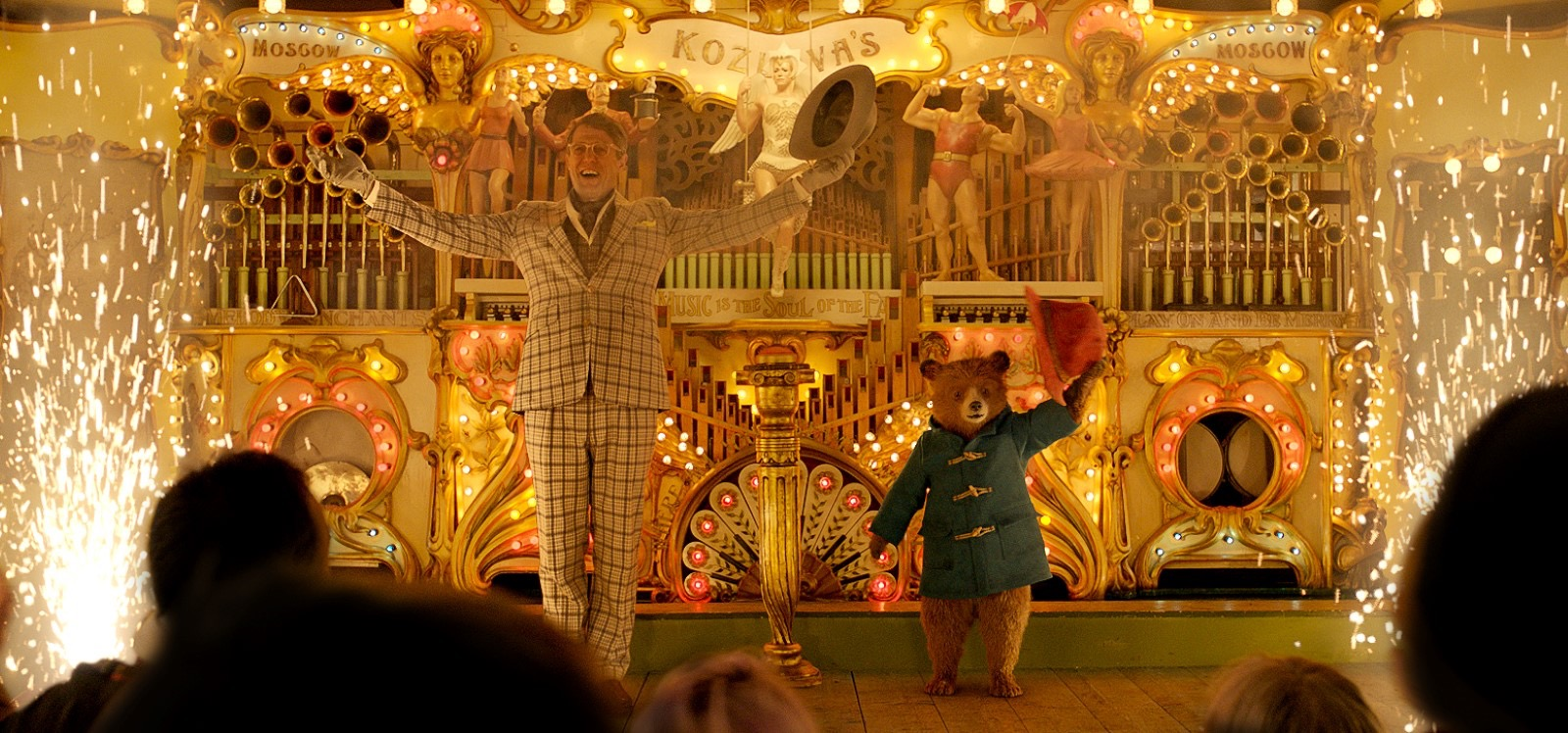 Paddington 2. Kozlova's Steam Organ. Courtesy of Heyday Films. Production Design Gary Williamson. Set Decoration Cathy Cosgrove.