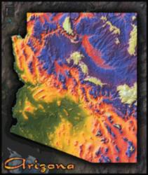 Arizona Topo