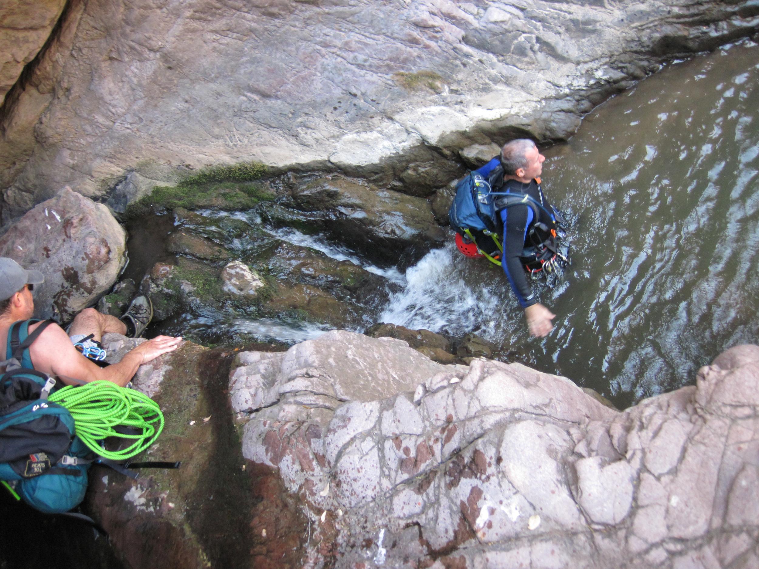 Christopher Creek Canyon - Canyoneering, AZ