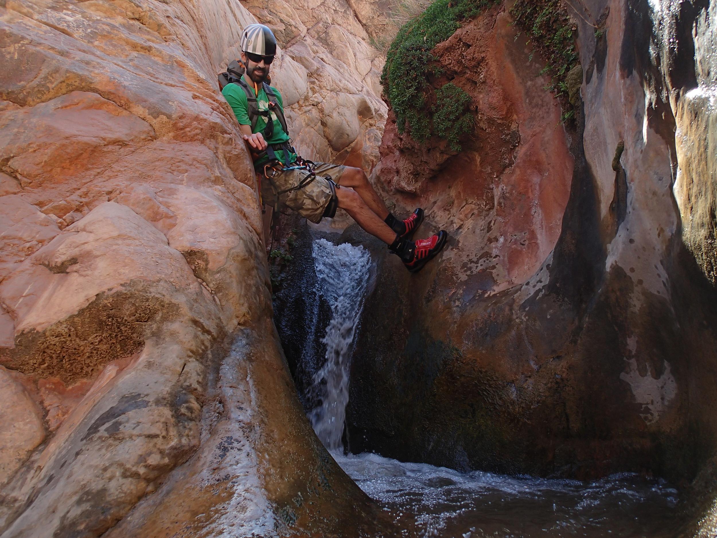 Garden Creek Canyon - Canyoneering, AZ