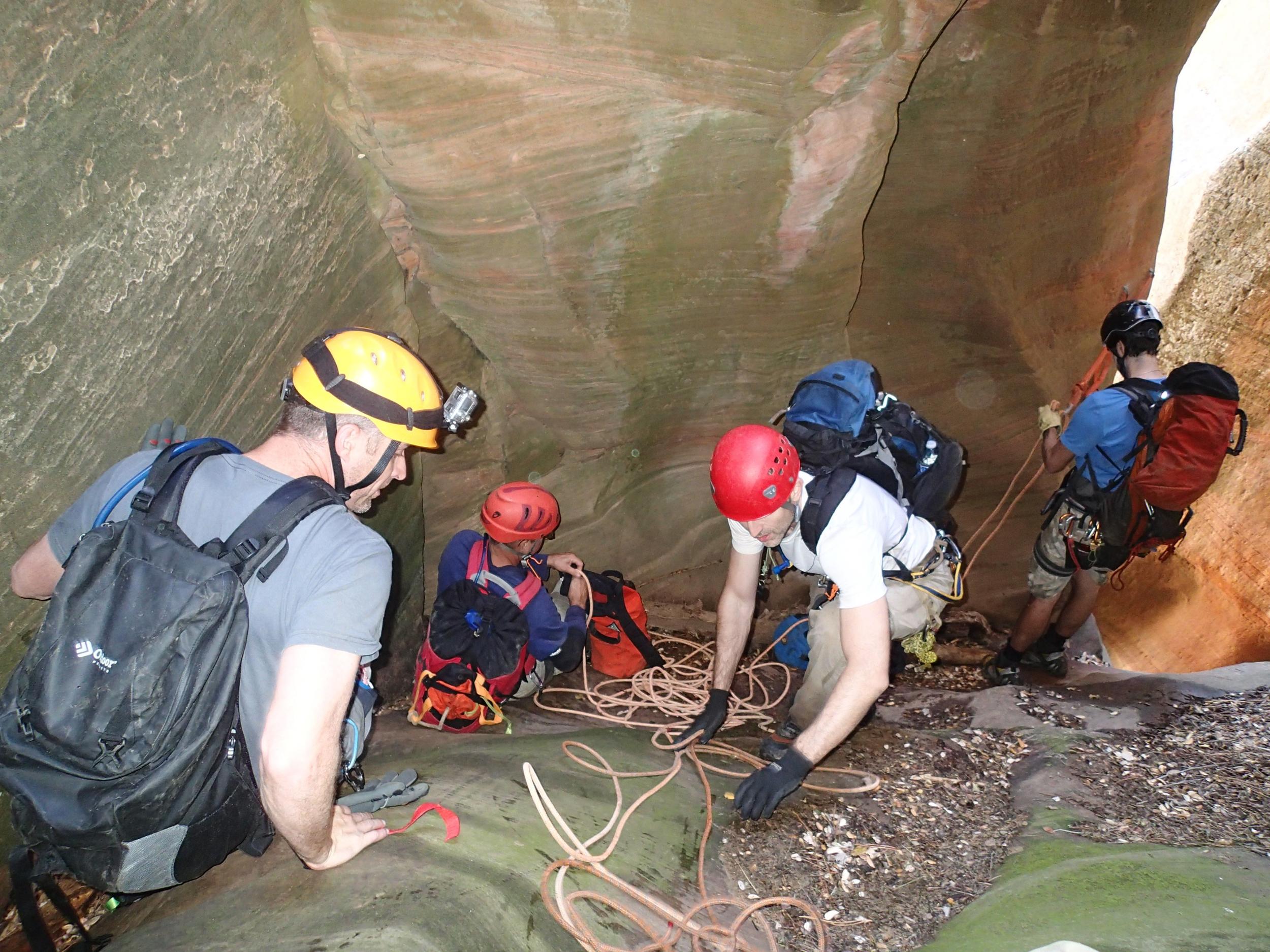 Immaculate Canyon - Canyoneering, AZ