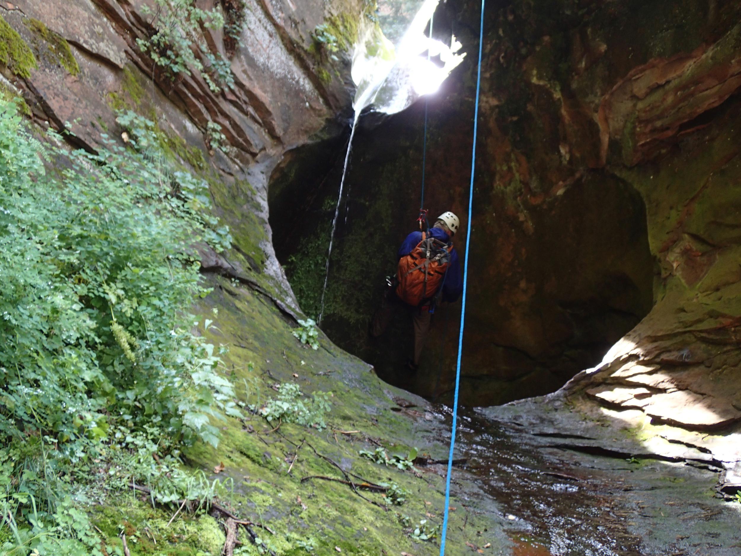 Insomnia Canyon - Canyoneering, AZ