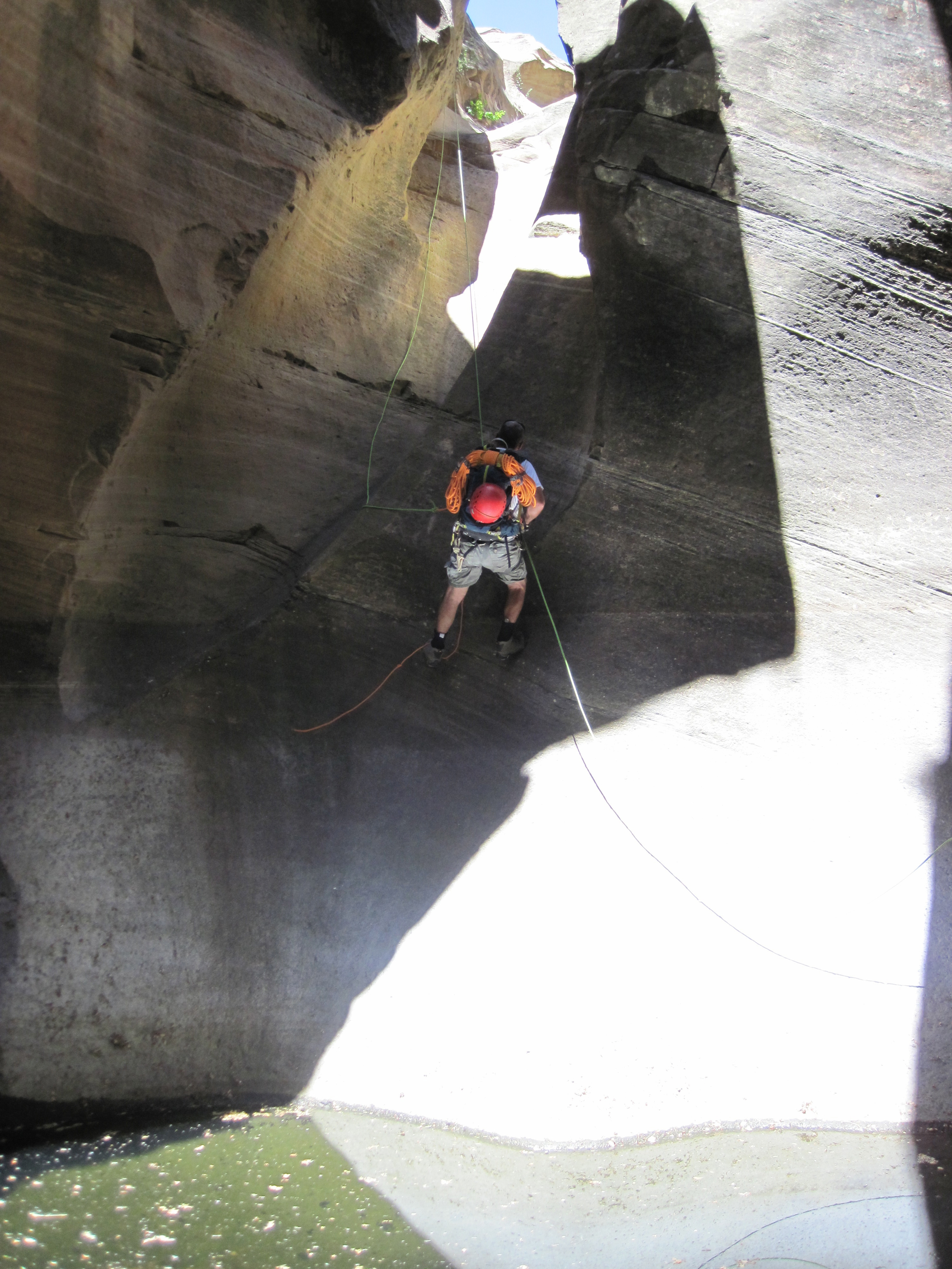 Little L.O. Canyon - Canyoneering, AZ