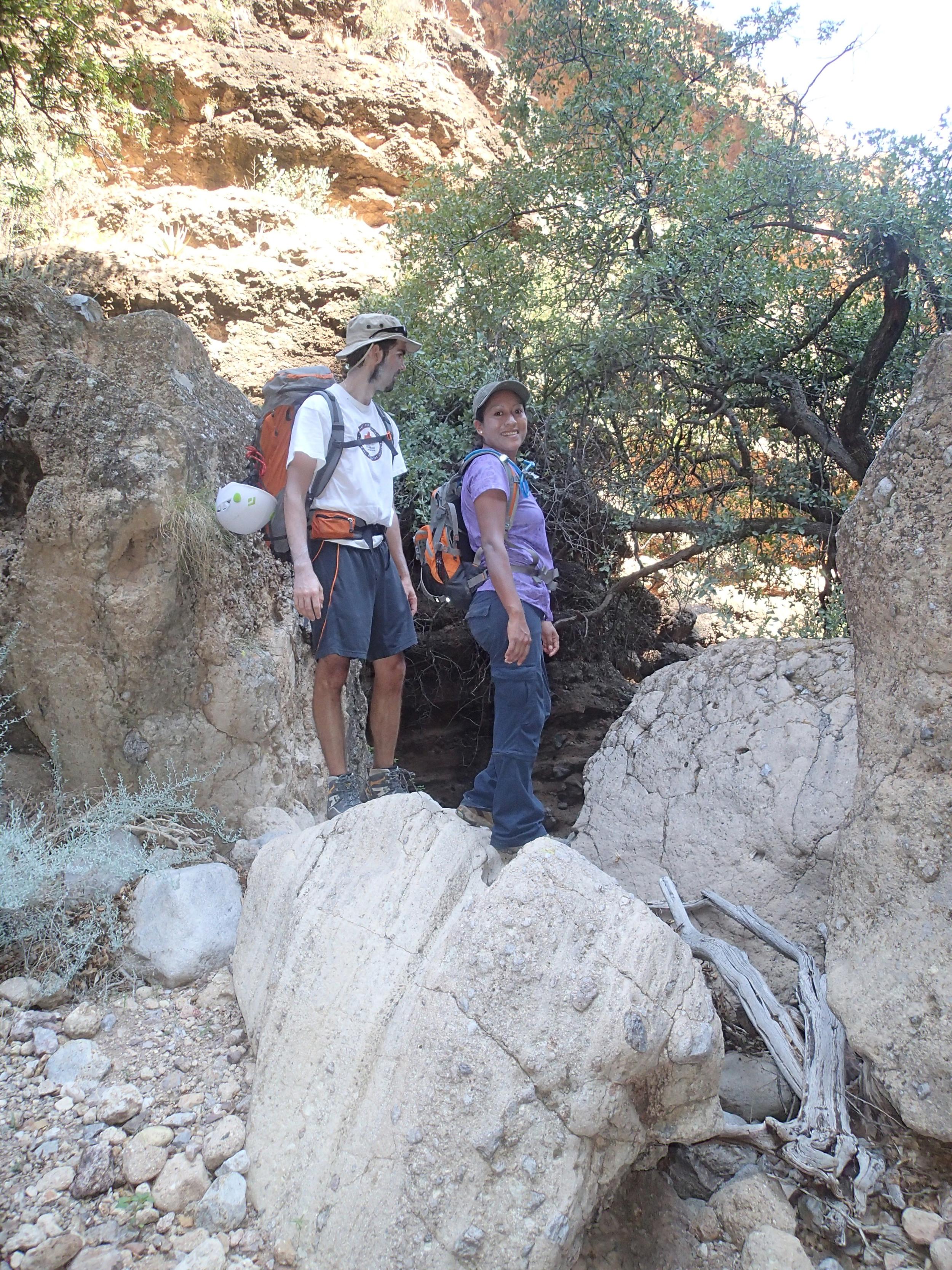 Minnow Canyon - Canyoneering, AZ