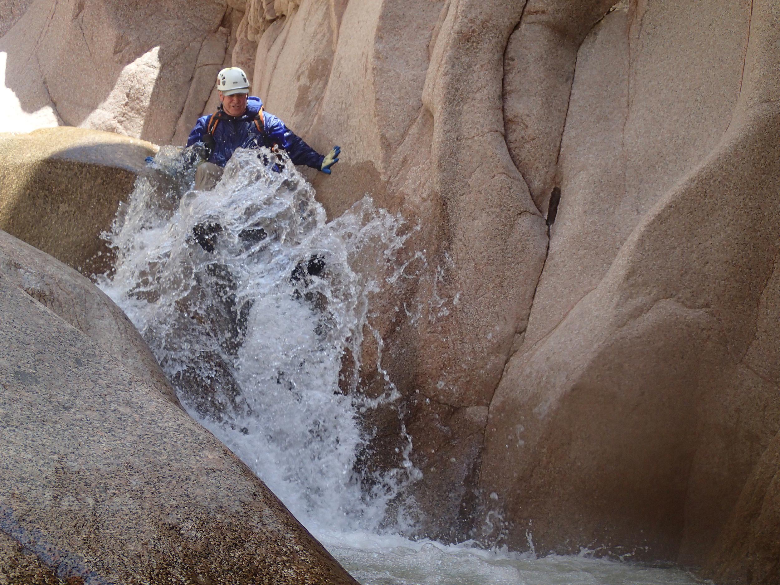 Salome Creek (The Jug) Canyon - Canyoneering, AZ