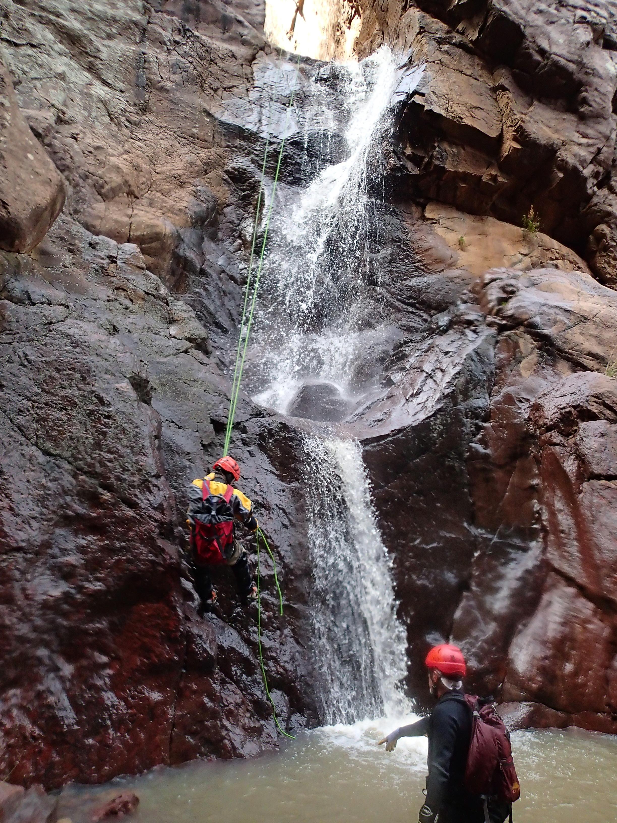 Shake Tree Canyon - Canyoneering, AZ