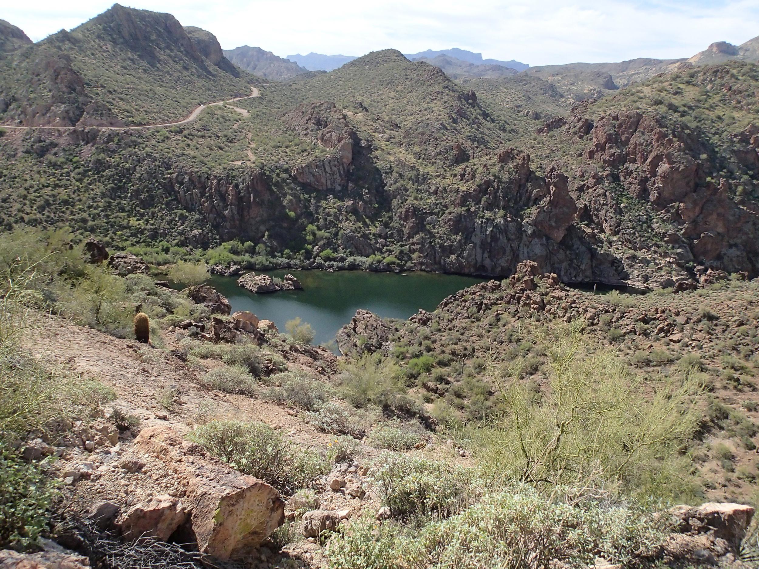 Splash Down Canyon - Canyoneering, AZ