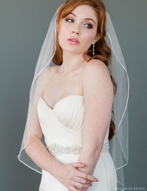 V9999   Ribbon edge veil