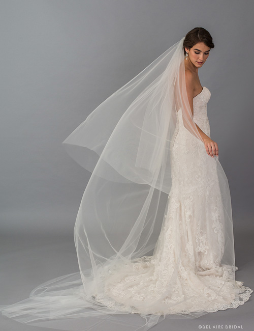 V7407C   2-tier foldover in soft luxe tulle