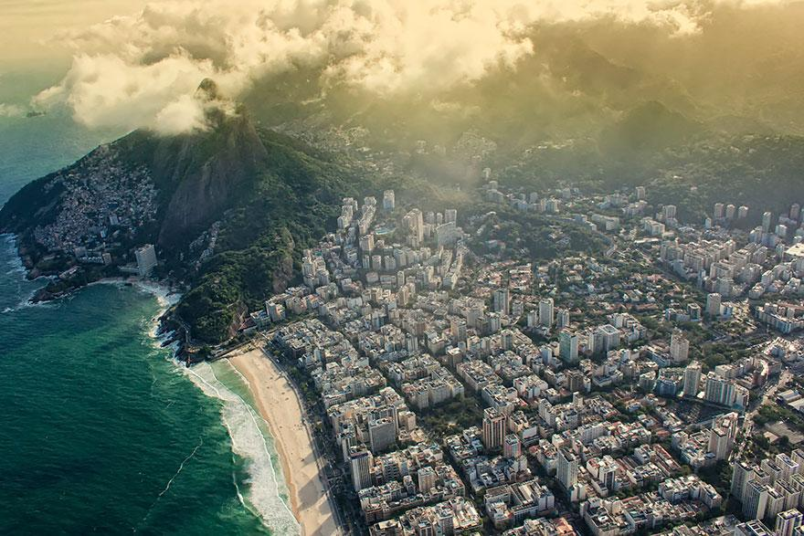Rio de Janeiro, Brazil    Gorgeous Rio will be in the news a lot in the coming two years: This year, it's hosting the World Cup, and in 2016, it's hosting the Summer Olympics. ( via )