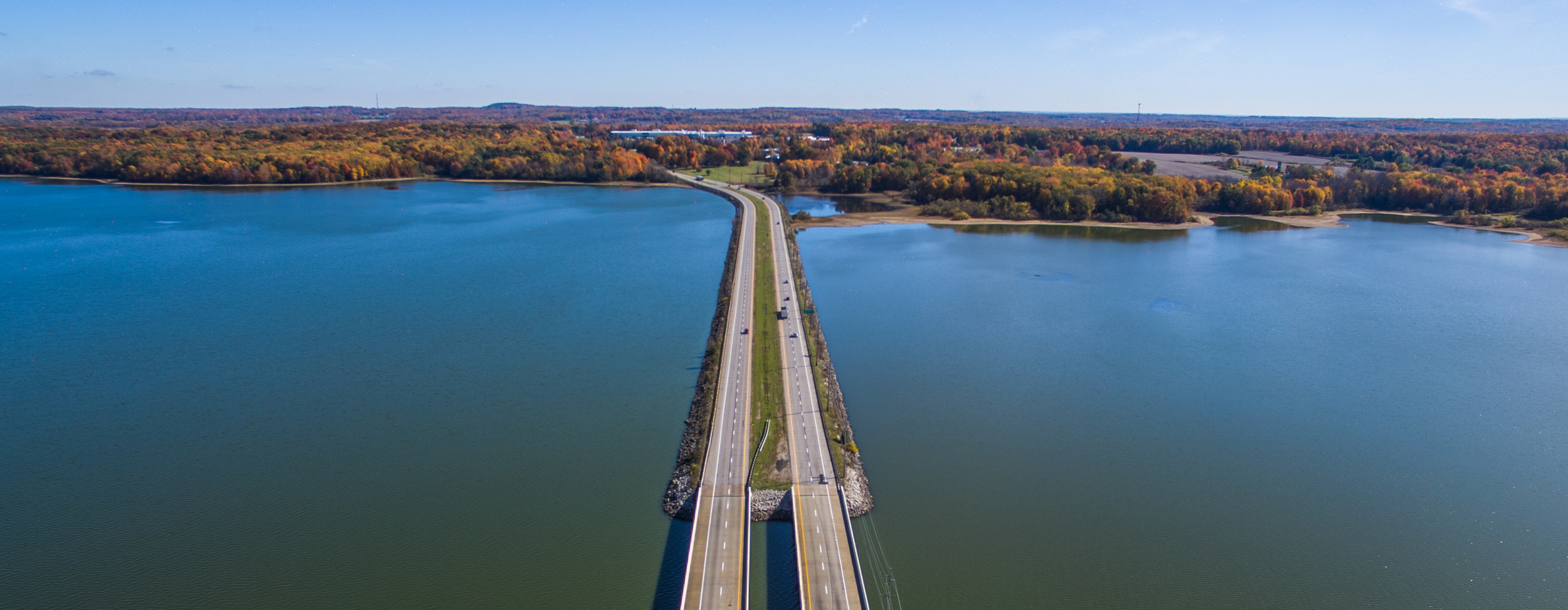 Ladue Reservoir in Geauga County