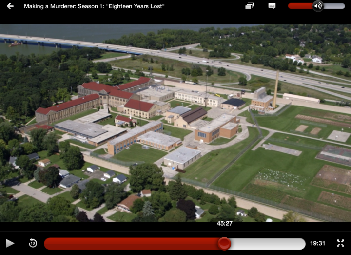 One of the many aerial shots spotted throughout the docu-series shot by Curtis Waltz of Aerialscapes, LLC