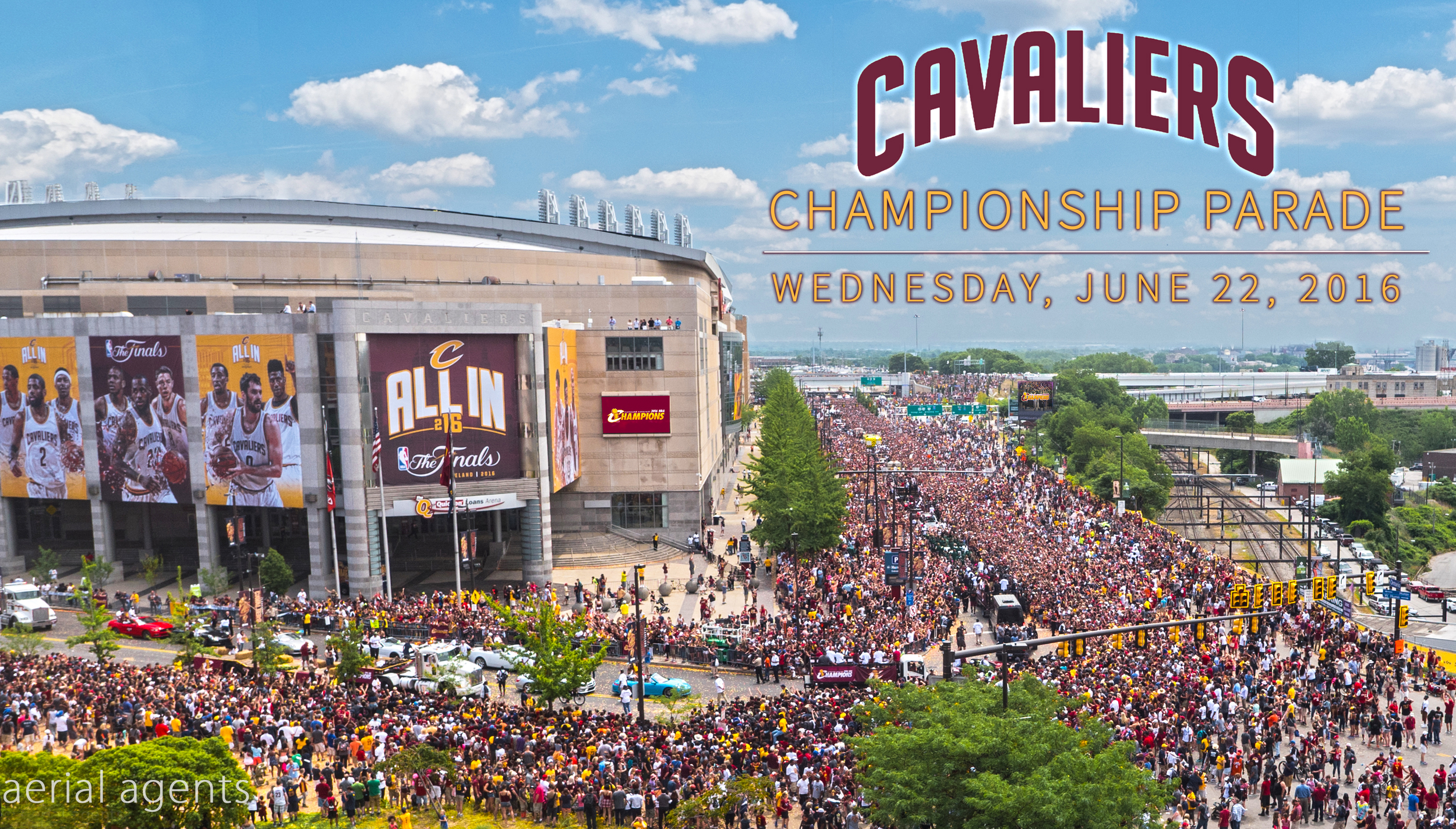 Opening of the 2016 Cavs Championship Parade