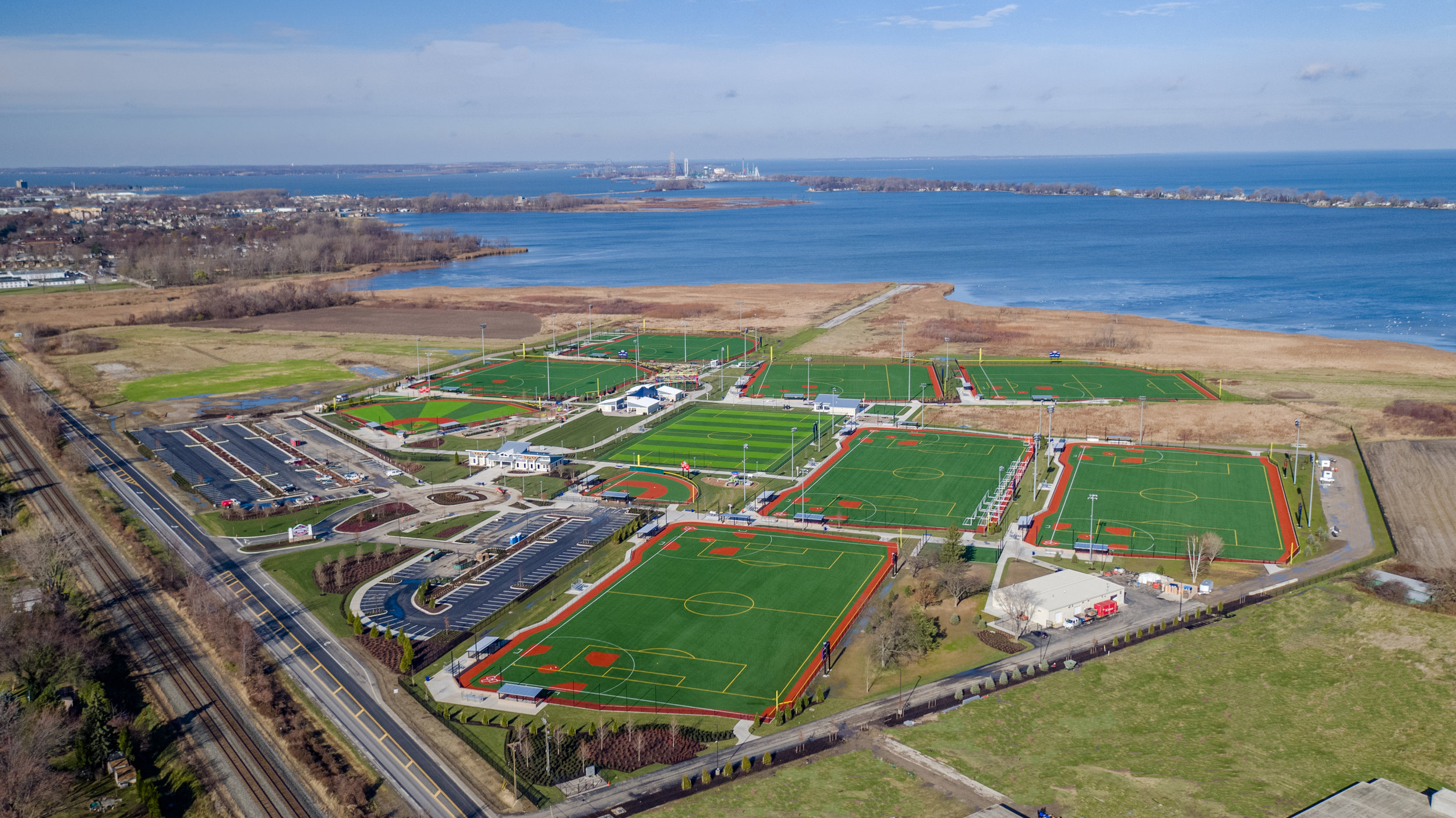 The all NEW Sports Force Parks at Cedar Point Sports Center in Sandusky, Ohio